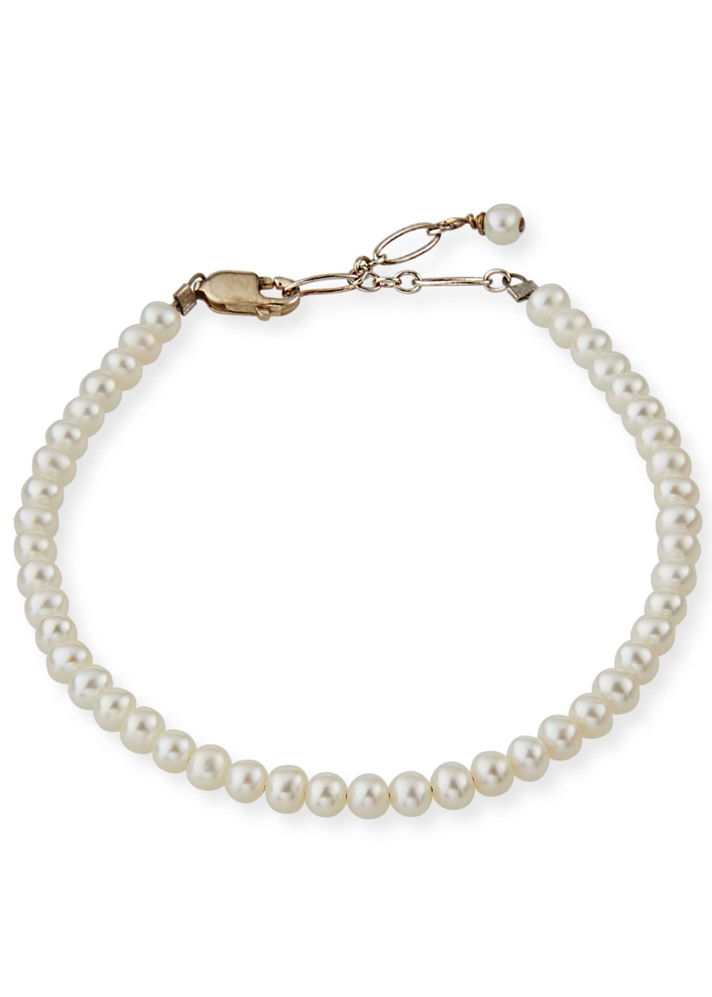 Helena Girl's Small Pearl Bracelet