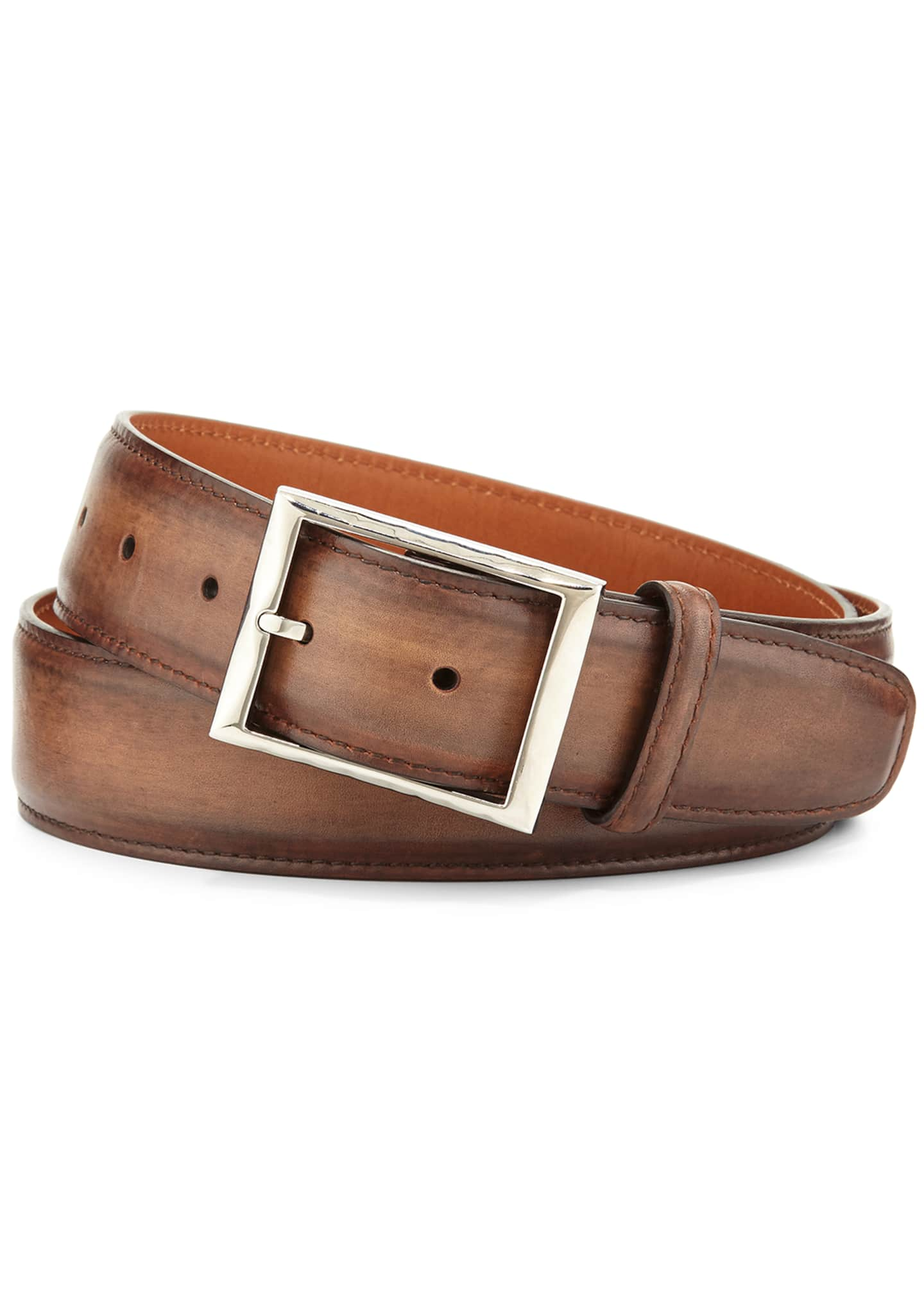 Berluti Venezia Leather Belt