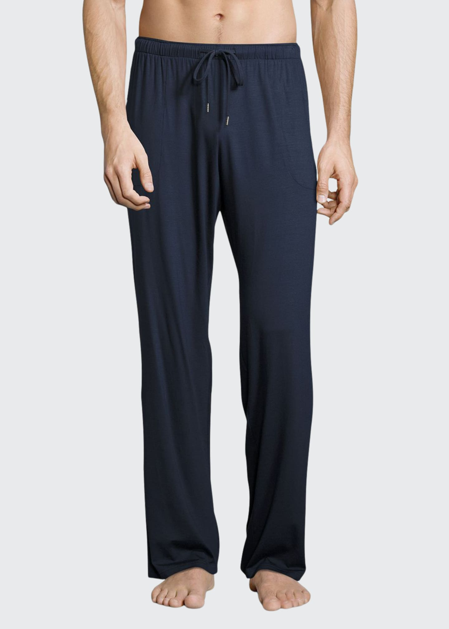 Derek Rose Jersey-Knit Lounge Pants, Navy
