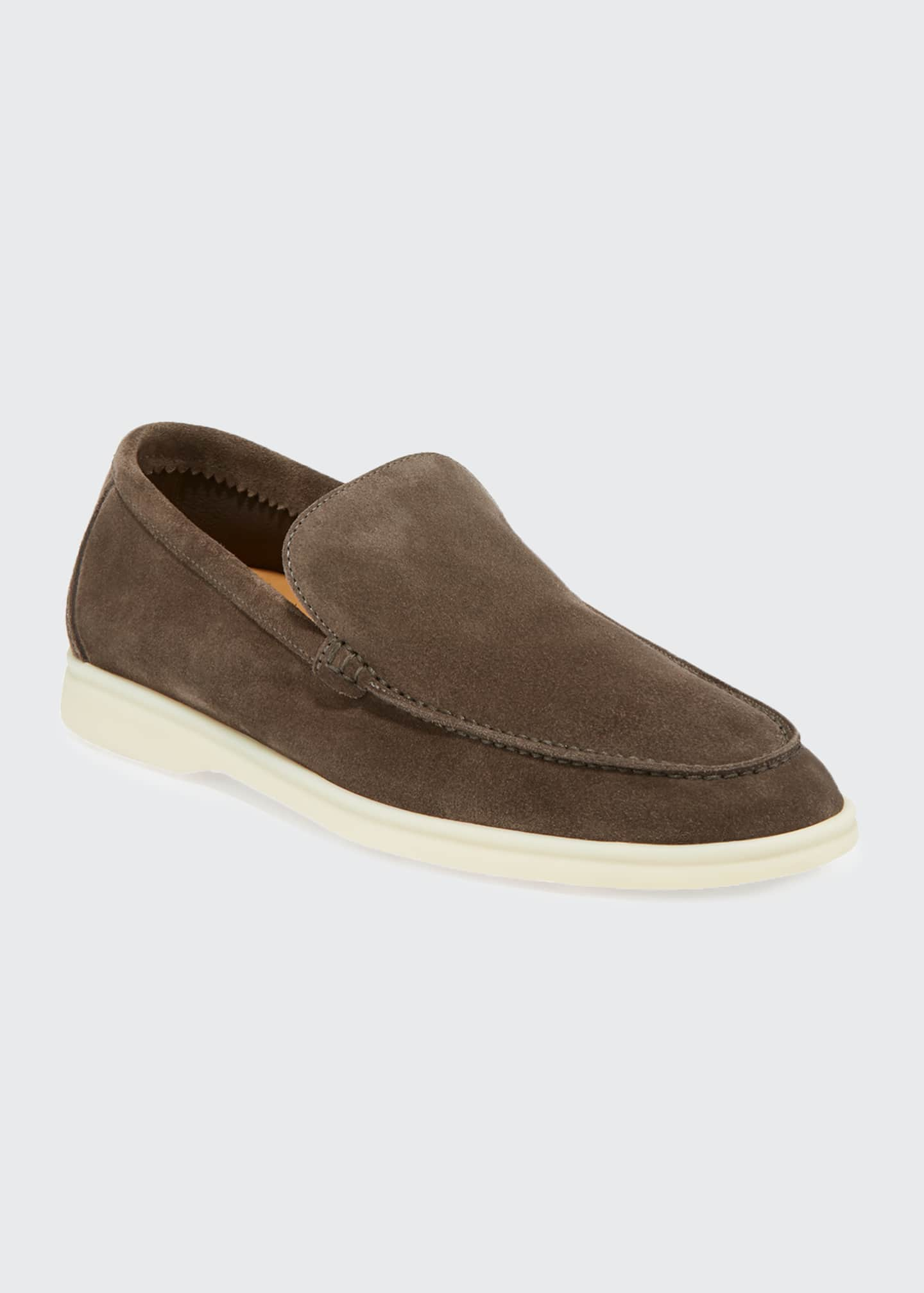Image 2 of 3: Men's Summer Walk Suede Loafers