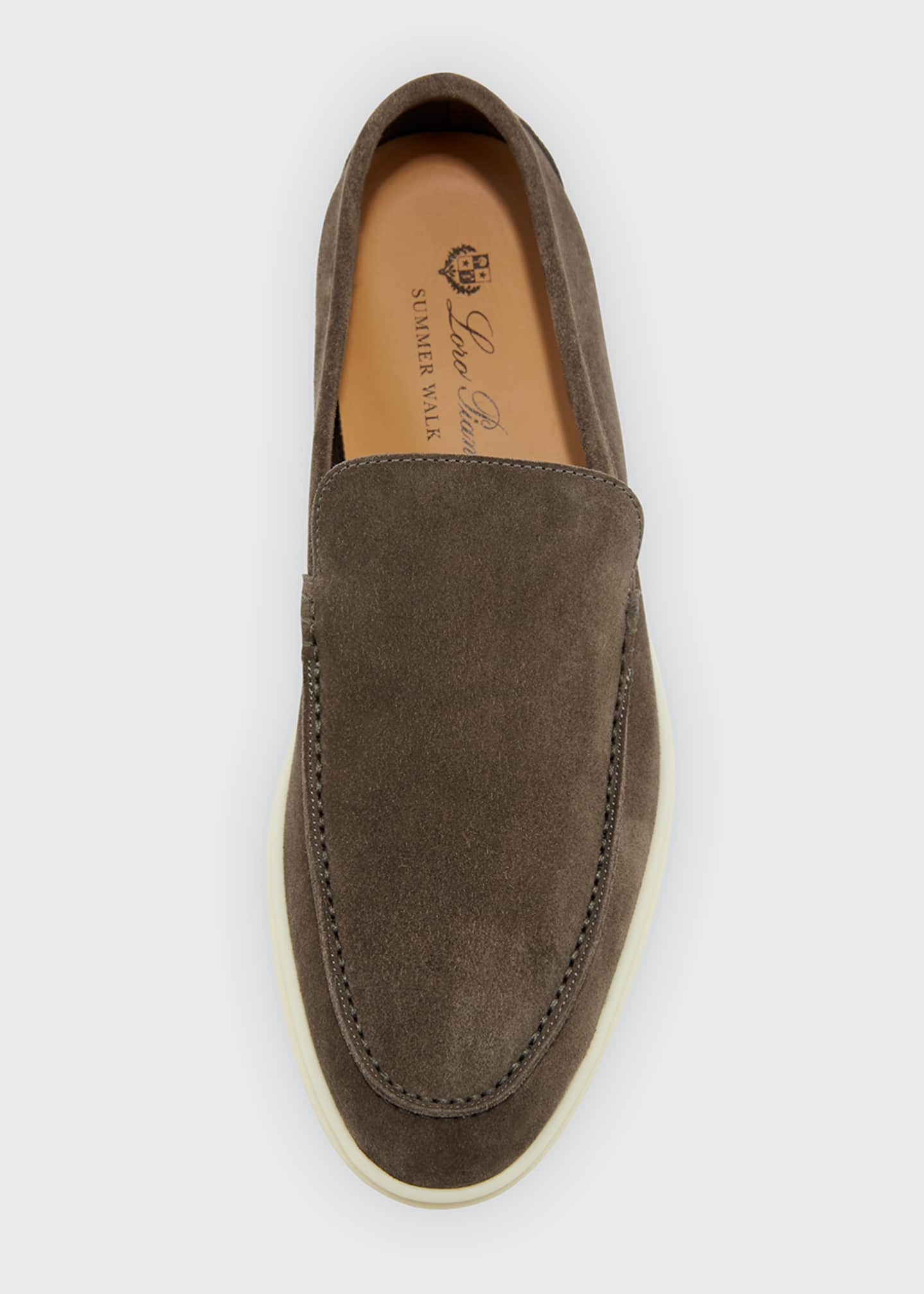 Image 3 of 3: Men's Summer Walk Suede Loafers