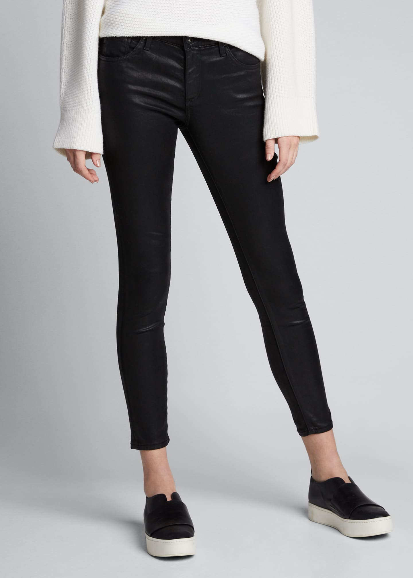 Image 3 of 5: The Legging Ankle Skinny Jeans