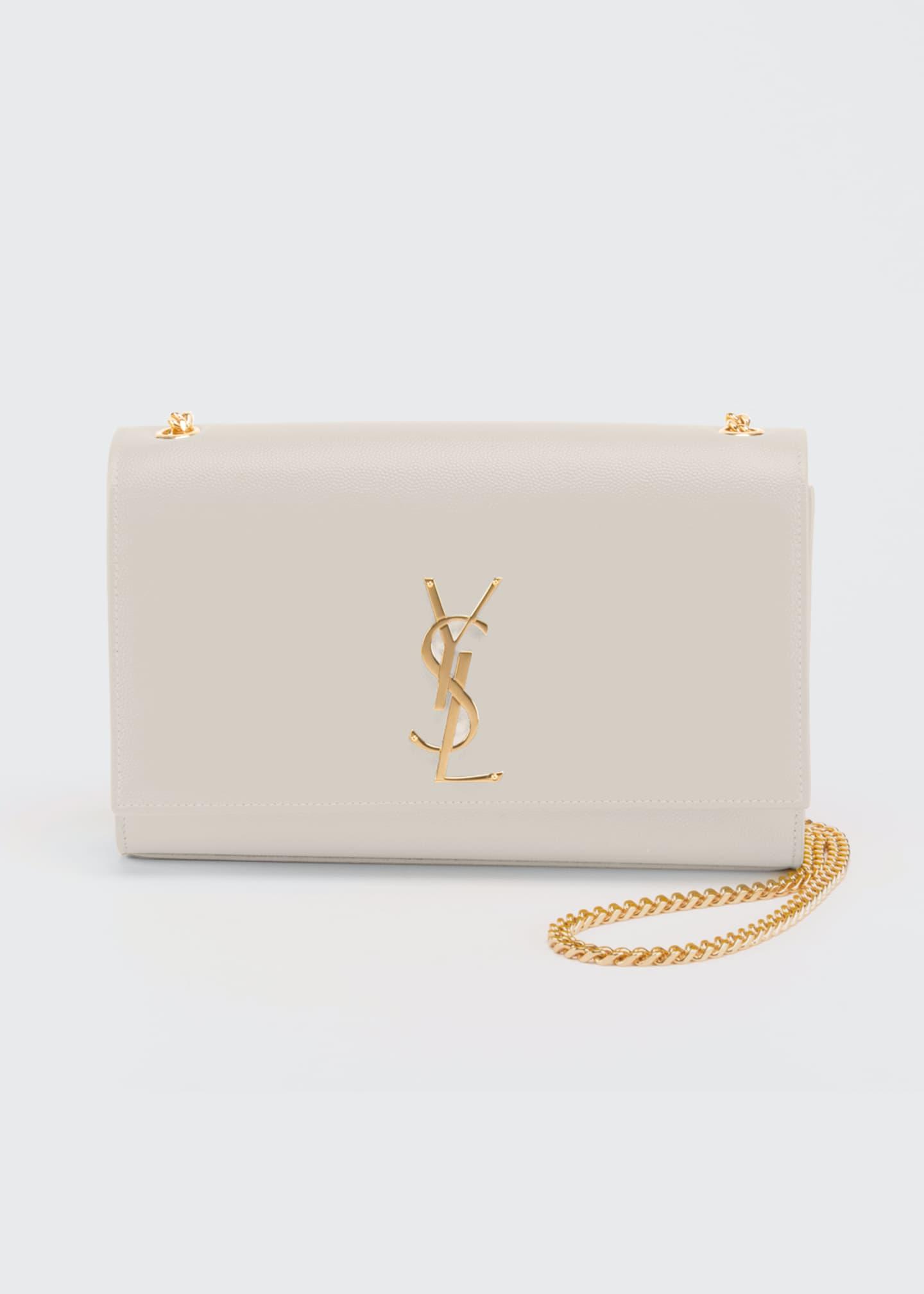 Saint Laurent Monogram YSL Medium Chain Shoulder Bag,