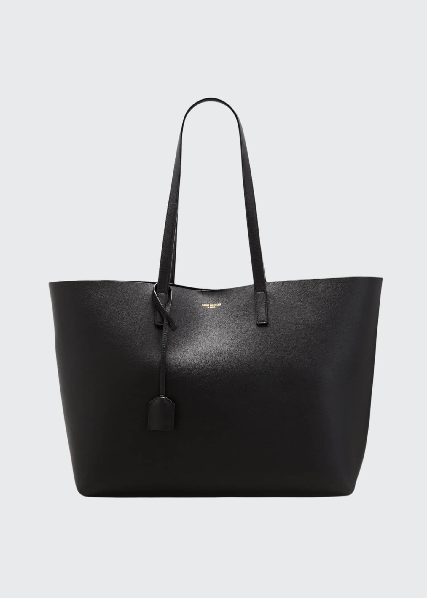 Image 1 of 3: East West Calfskin Shopping Tote Bag
