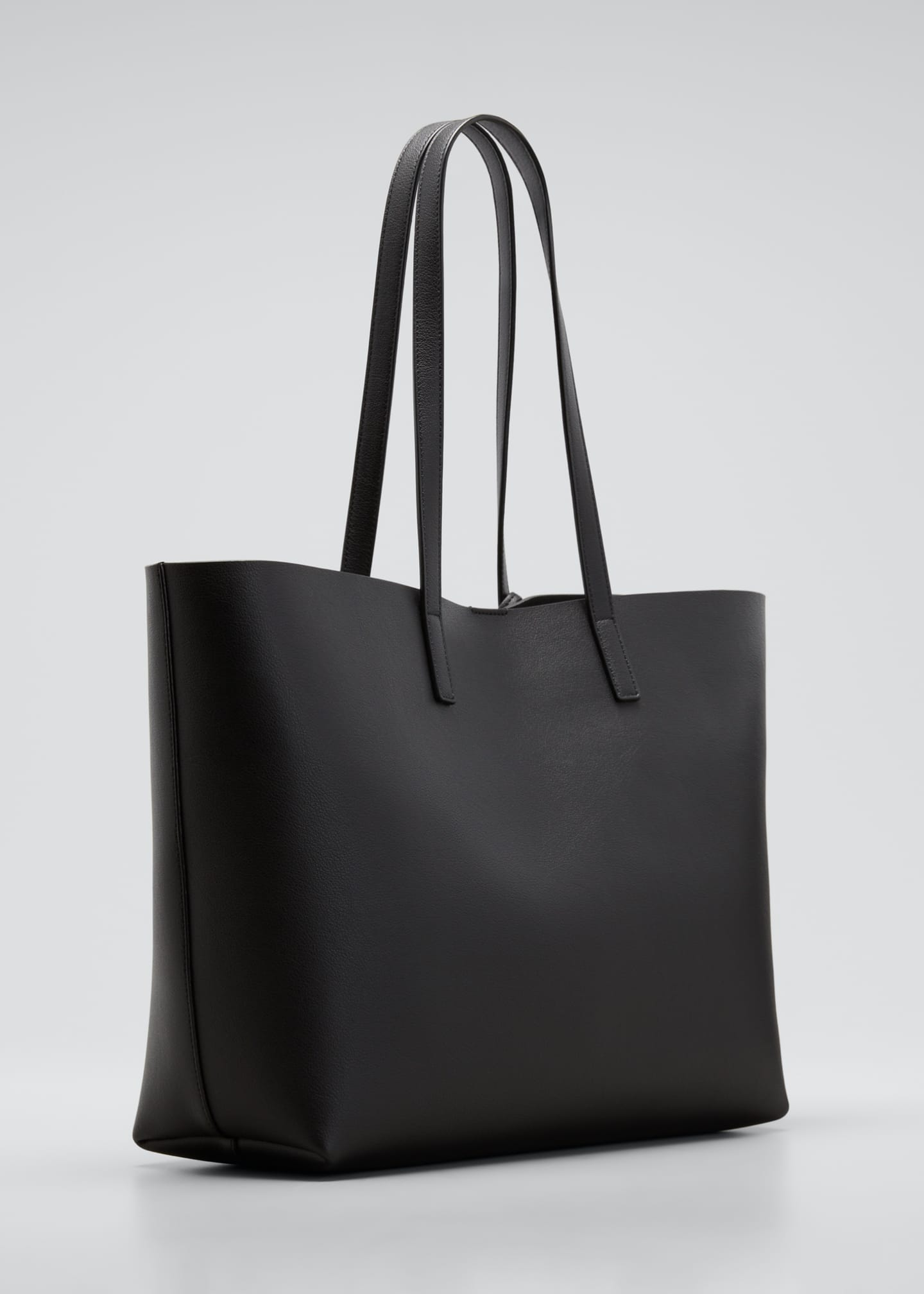 Image 2 of 3: East West Calfskin Shopping Tote Bag