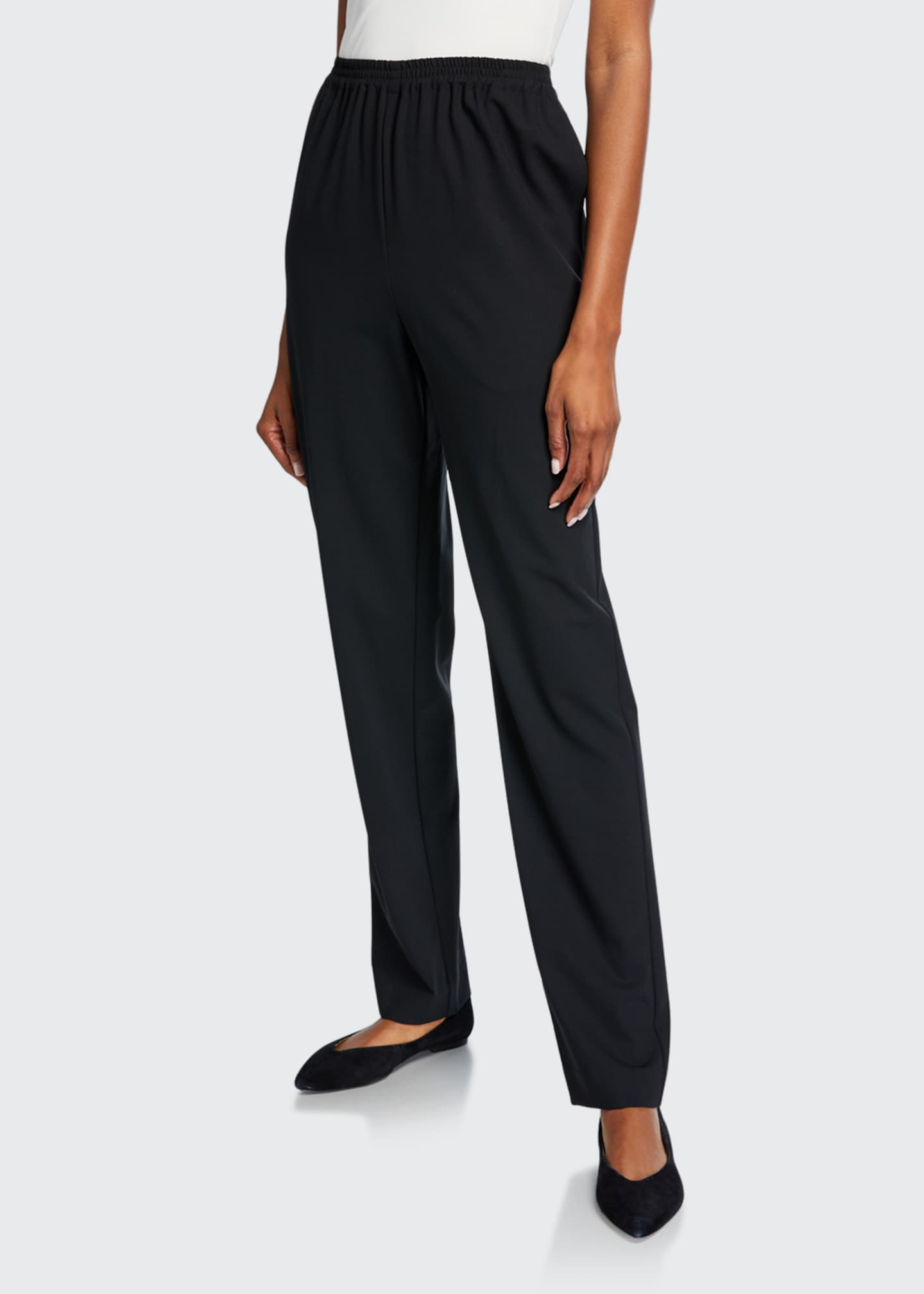 Image 3 of 3: Stretch Narrow-Leg Trousers