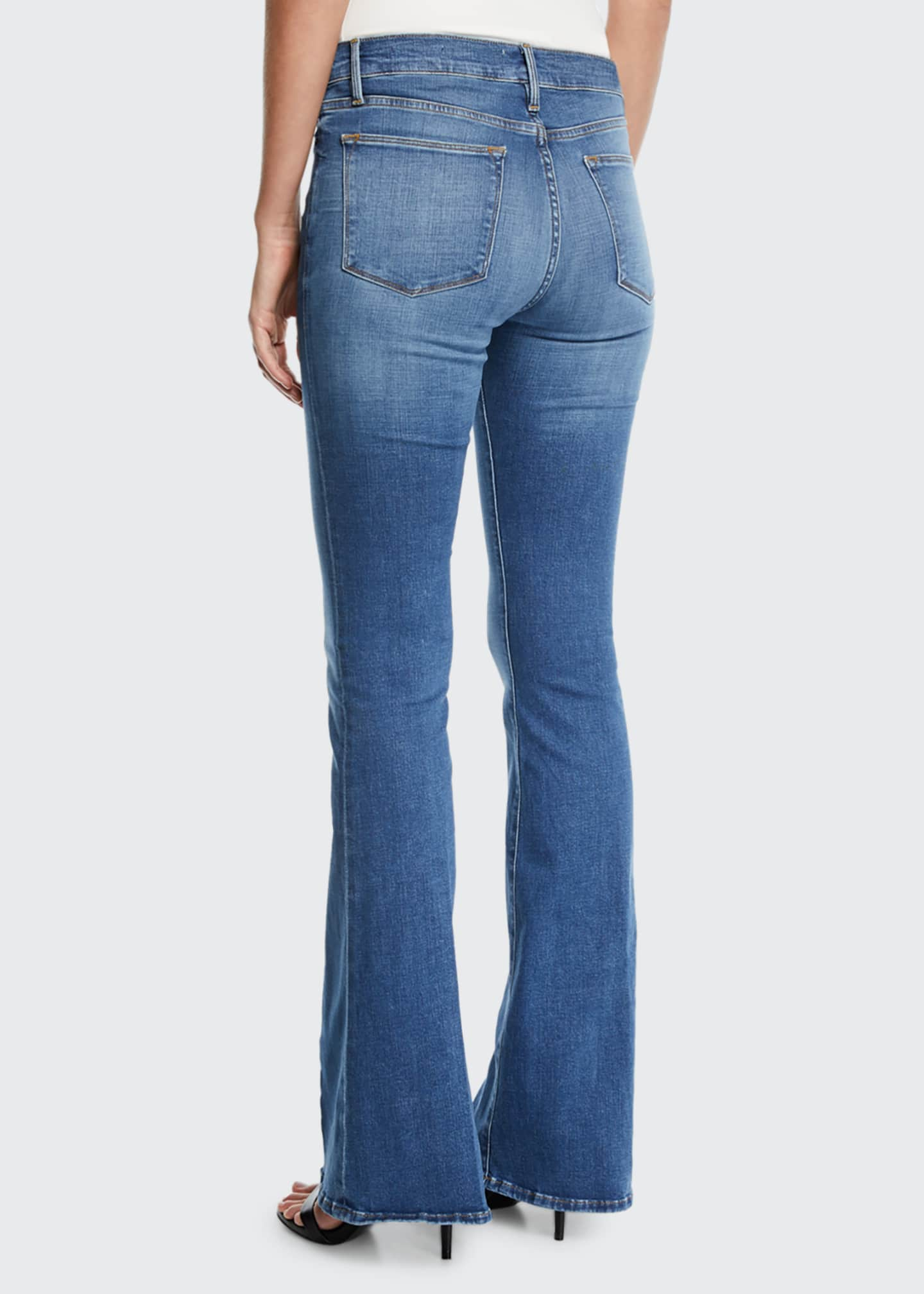 Image 2 of 3: Le High Flare Jeans