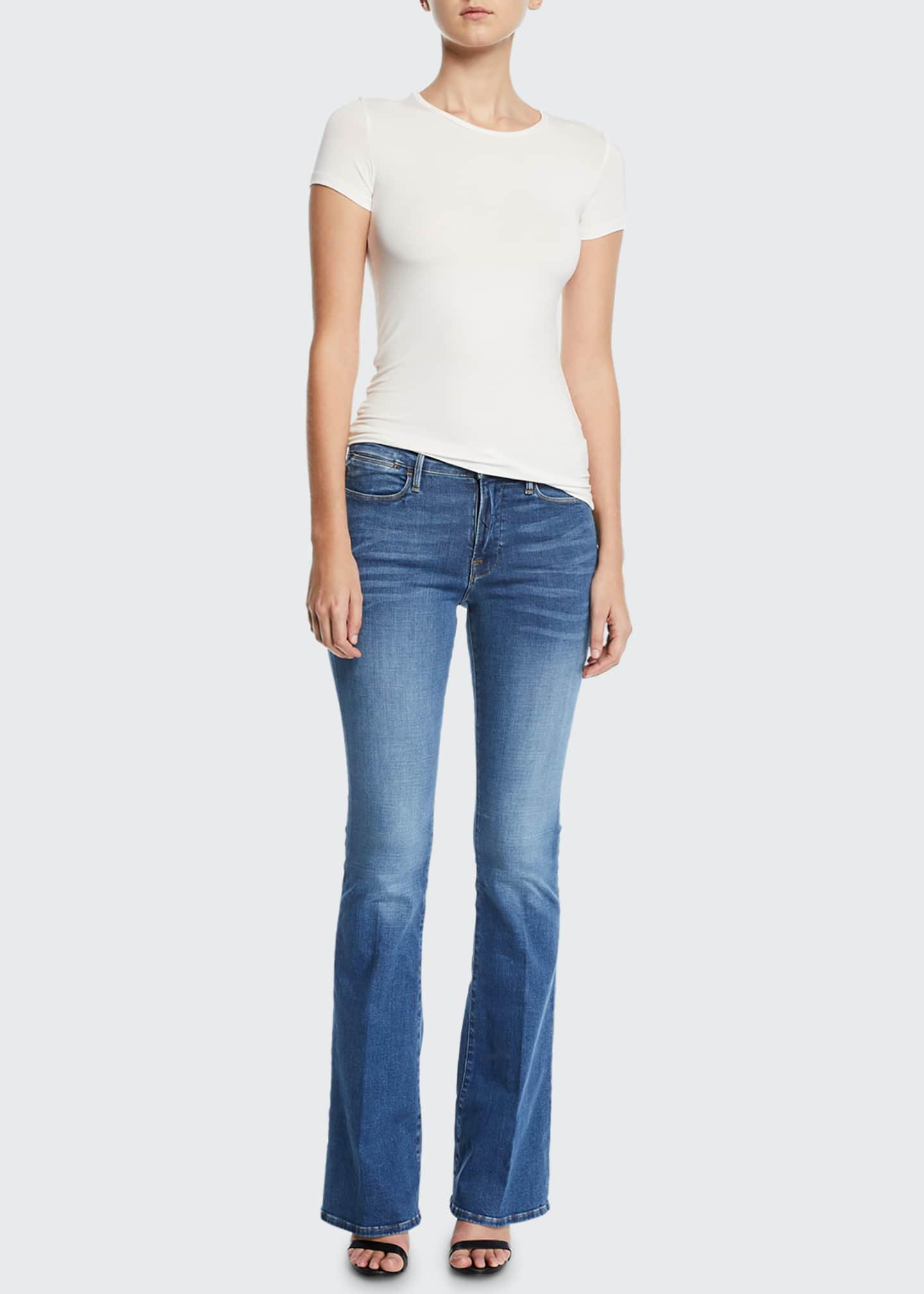 Image 3 of 3: Le High Flare Jeans