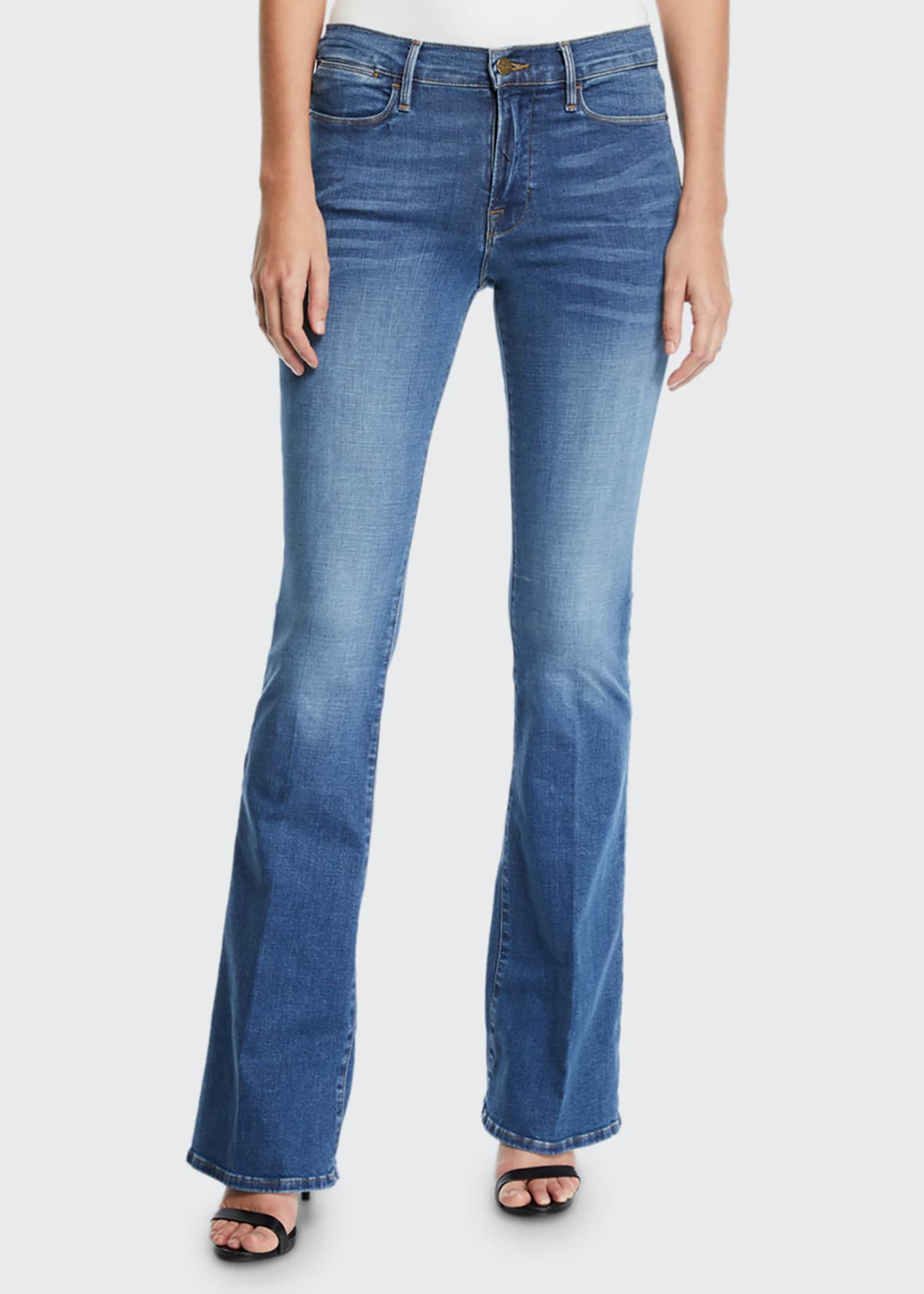 Image 1 of 3: Le High Flare Jeans