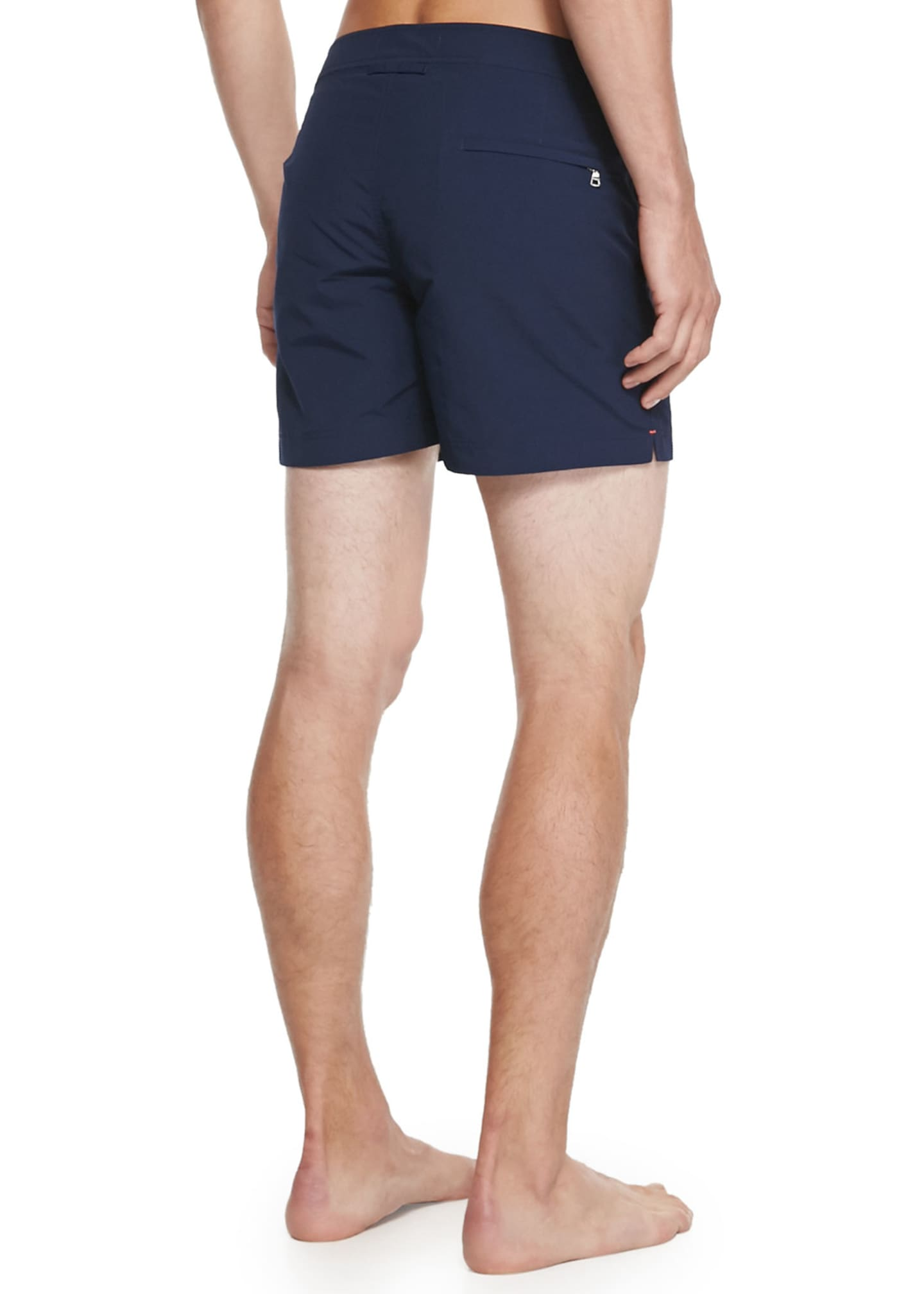 Image 2 of 2: Setter Short-Length Swim Trunks, Navy