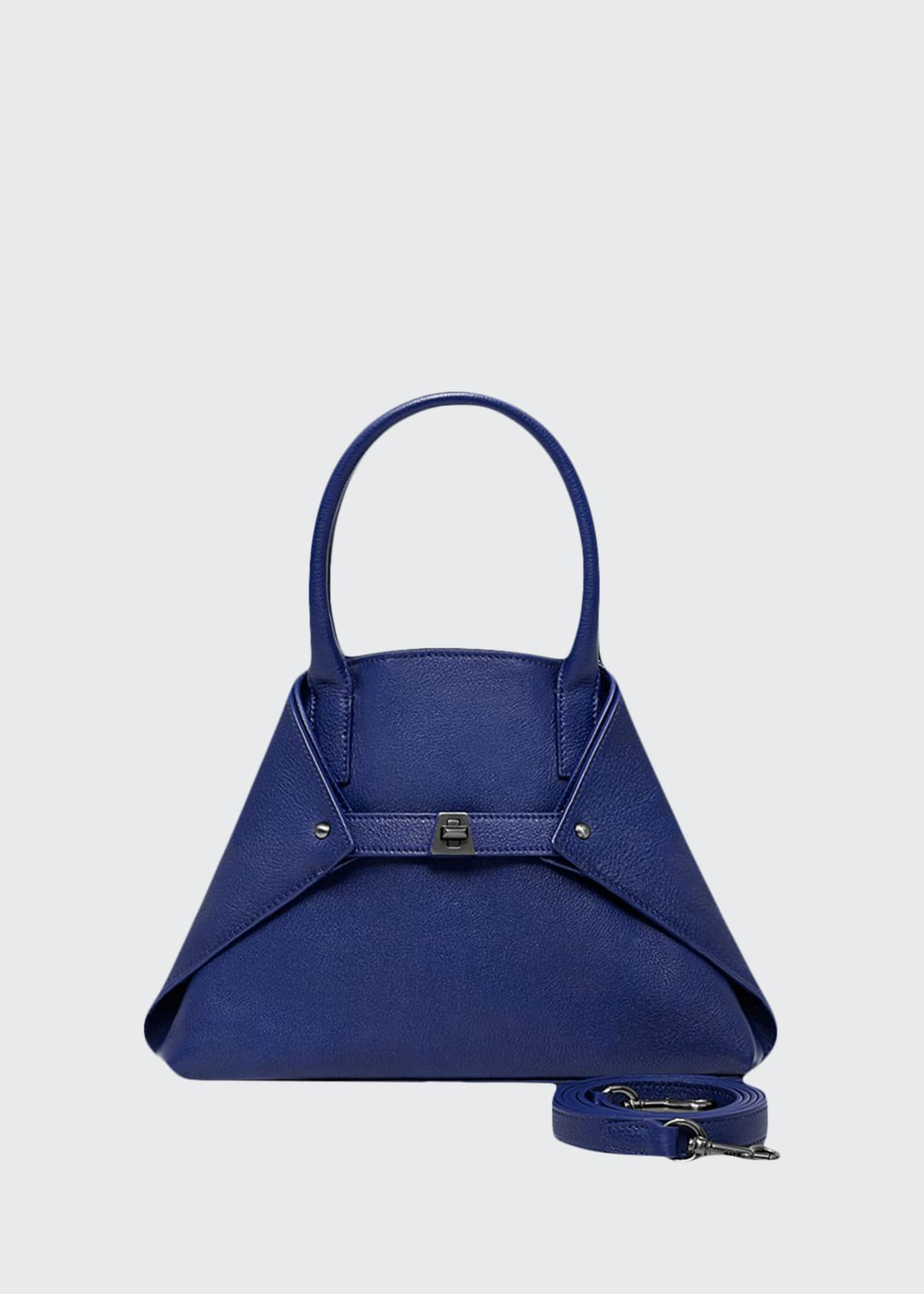 Akris Ai Little Cervo Calf Top-Handle Bag