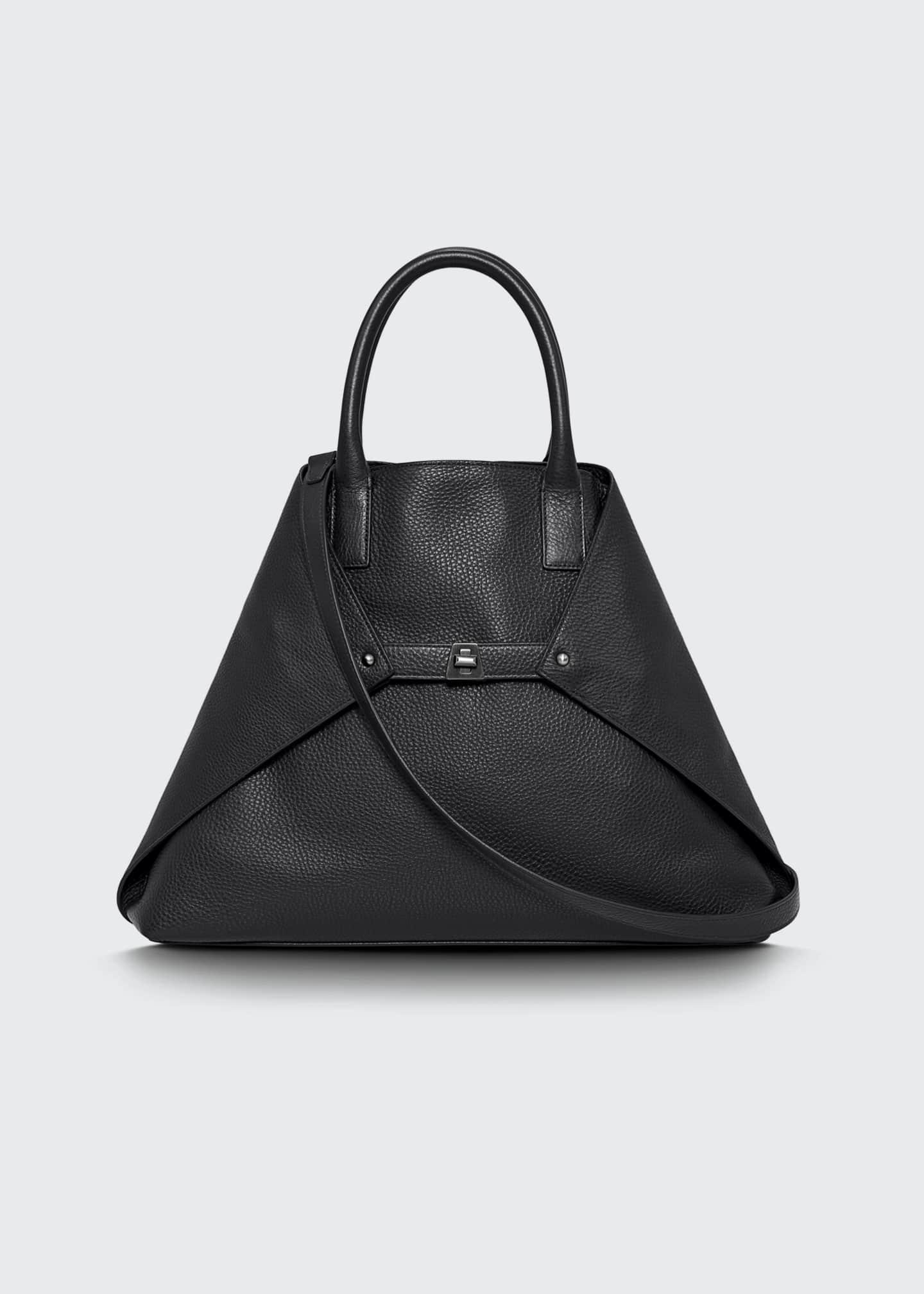 Akris Ai Medium Soft Cervo Calf Shoulder Bag