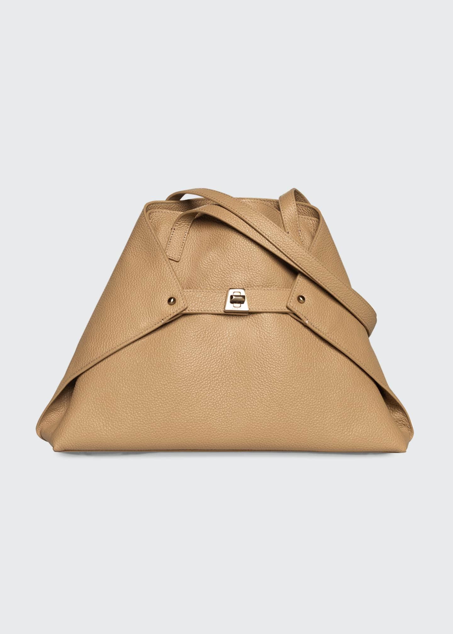 Akris Ai Cervo Small Shoulder Tote Bag