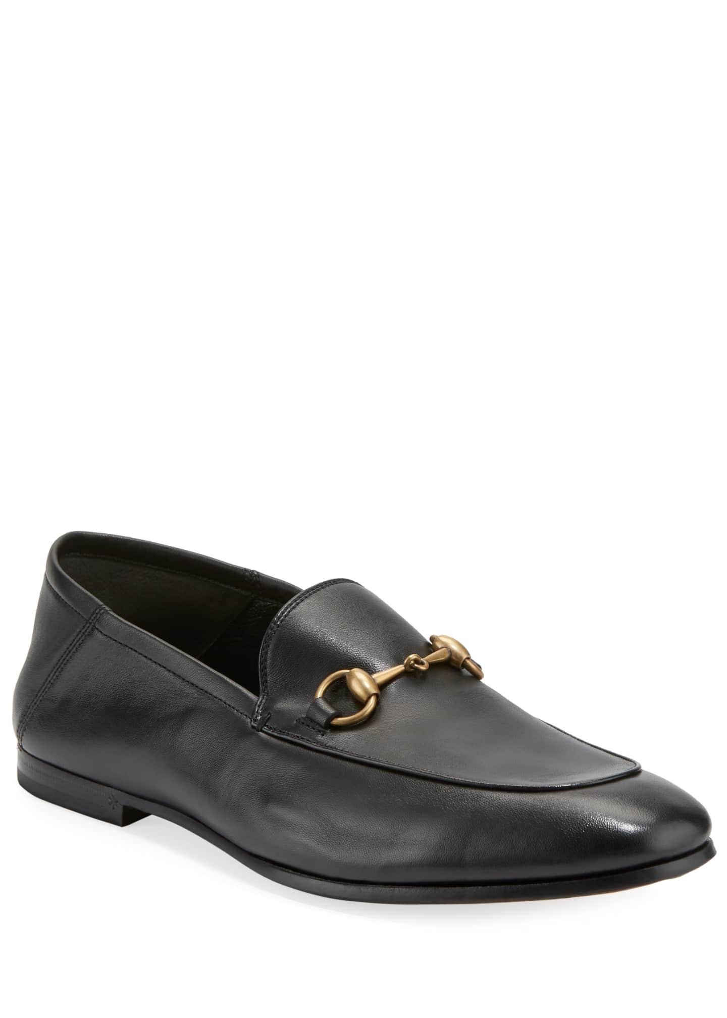 Gucci Brixton Soft Leather Bit-Strap Loafer