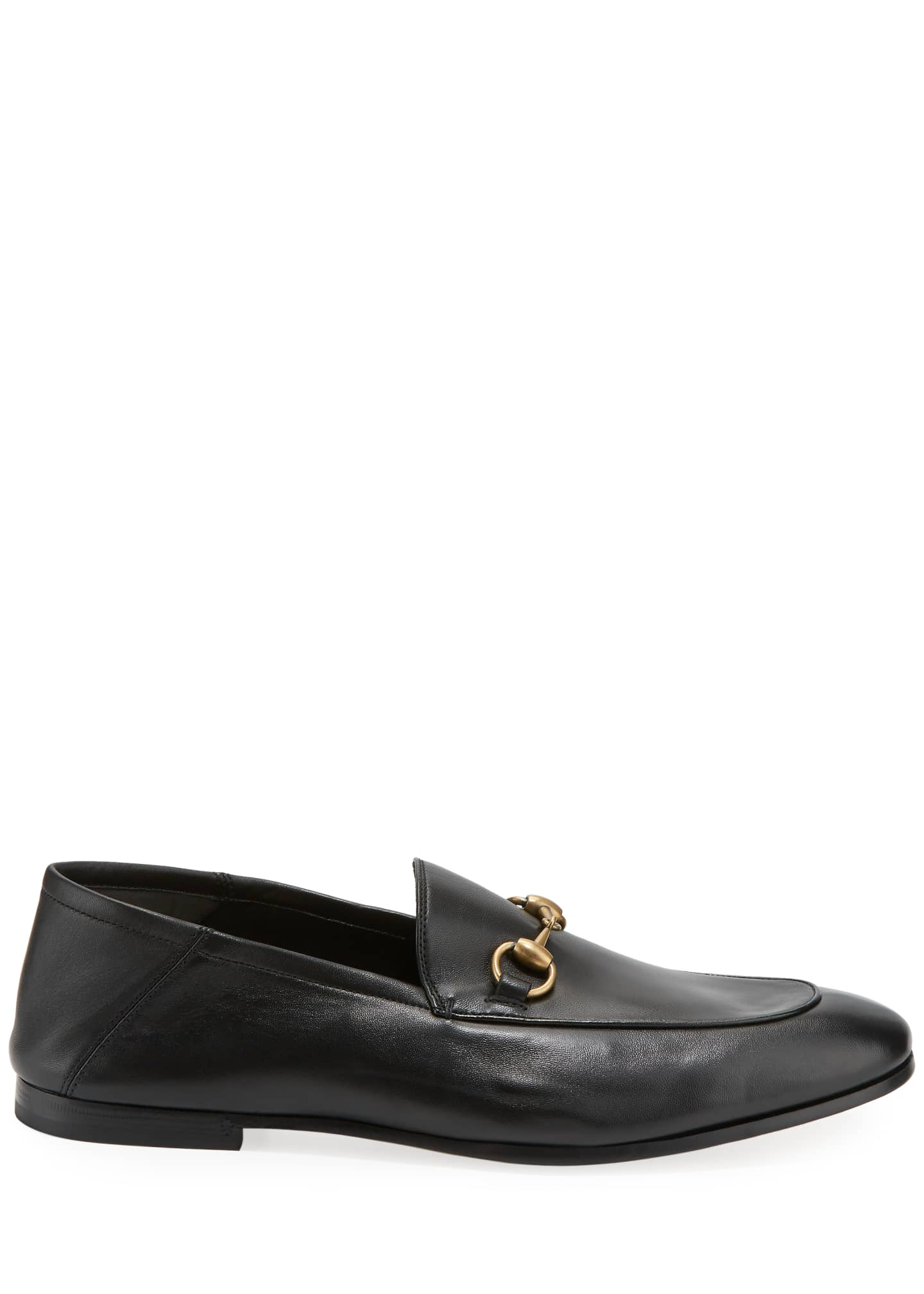 Image 2 of 4: Brixton Soft Leather Bit-Strap Loafer