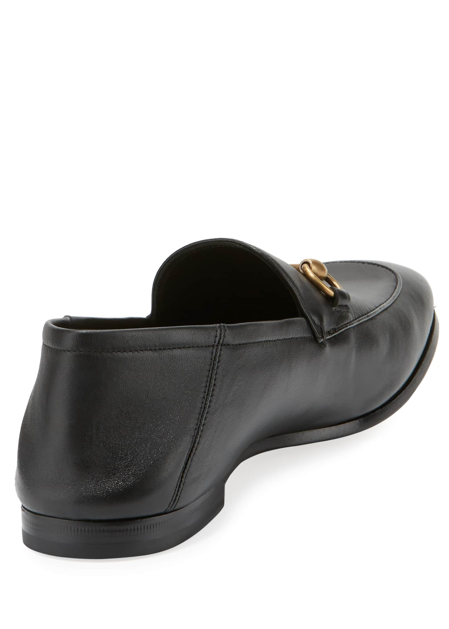 Image 3 of 4: Brixton Soft Leather Bit-Strap Loafer