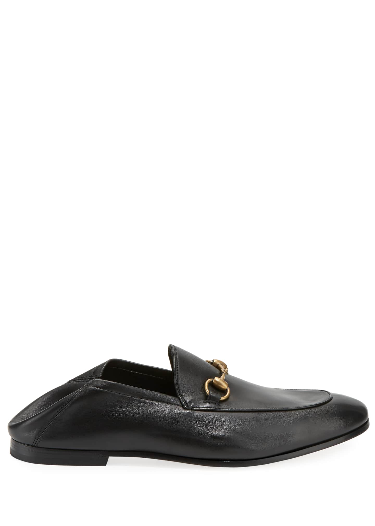 Image 4 of 4: Brixton Soft Leather Bit-Strap Loafer