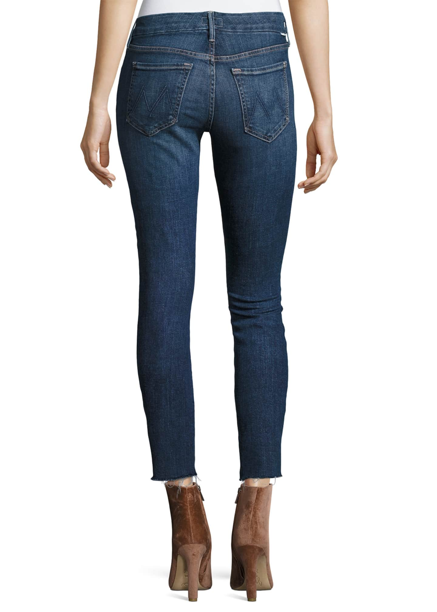 Image 2 of 3: The Looker Ankle Fray Girl-Crush Denim Jeans