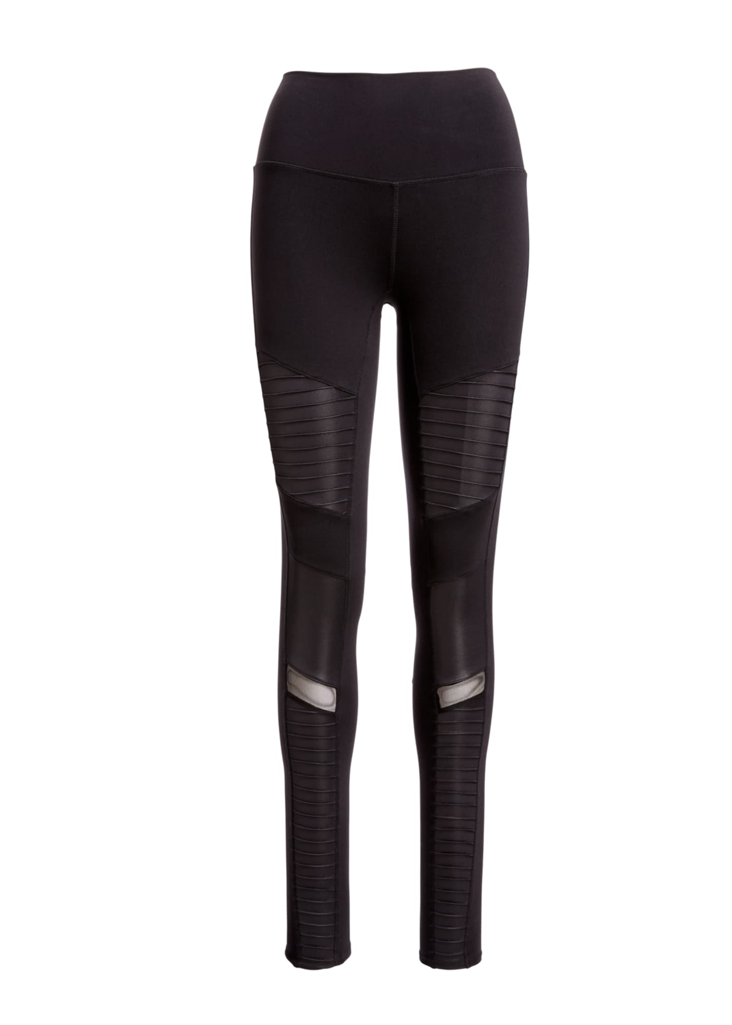Image 3 of 3: Moto High-Waist Sport Leggings