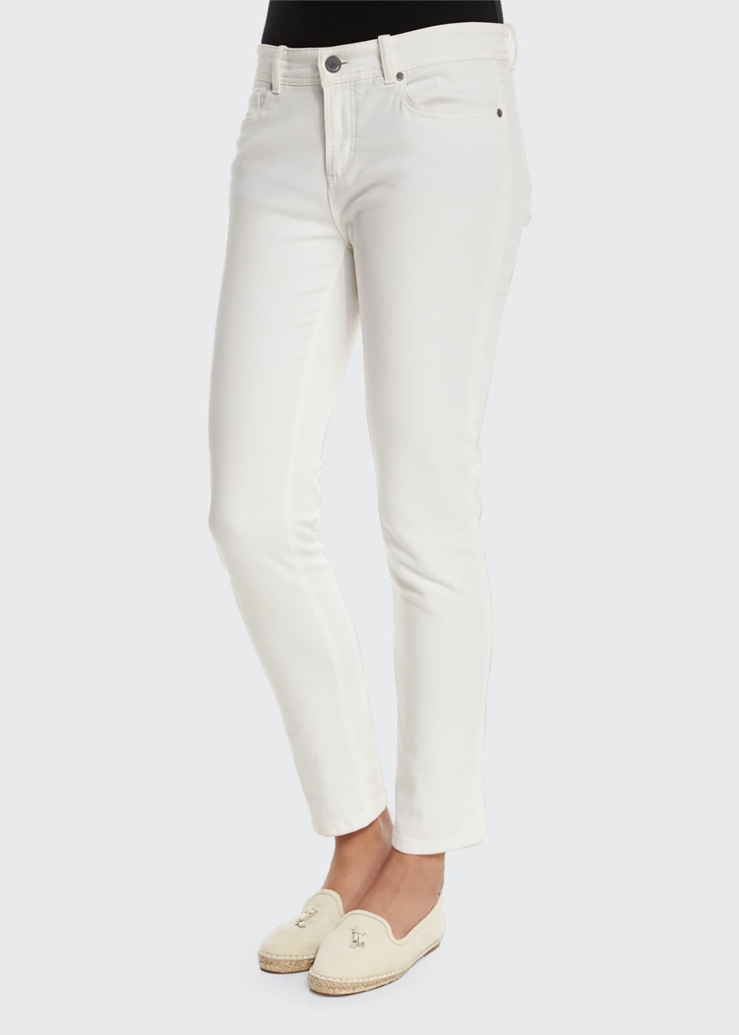 Loro Piana Mathias Slim-Leg Ankle Jeans