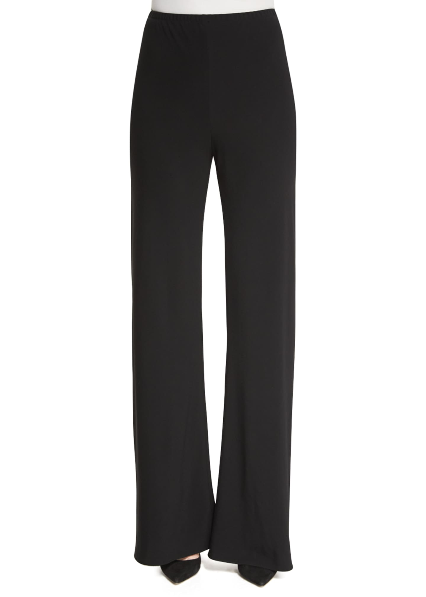 THE ROW Gala Straight-Leg Cady Pants