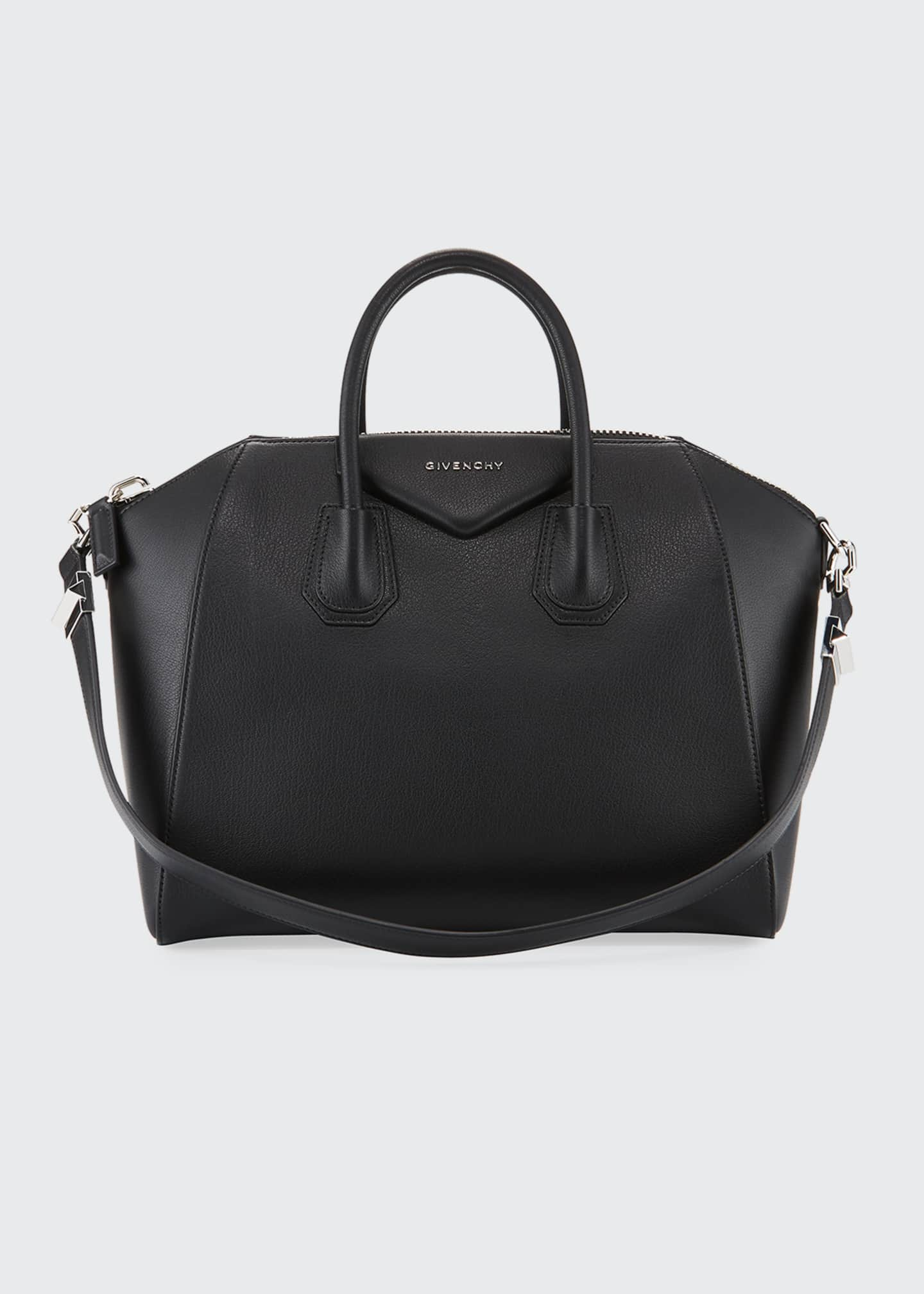Givenchy Antigona Medium Sugar Goatskin Satchel Bag