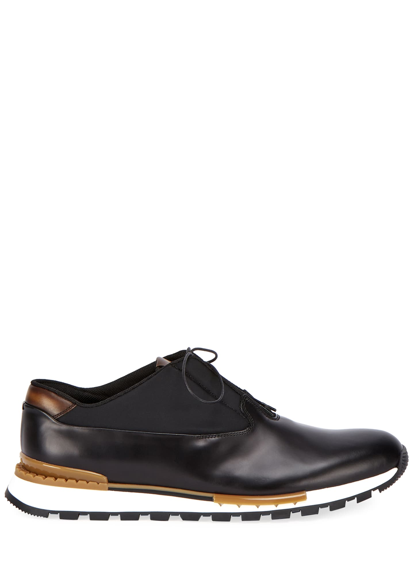 Image 2 of 4: Men's Fast Track Torino Glazed Calf Leather Sneaker