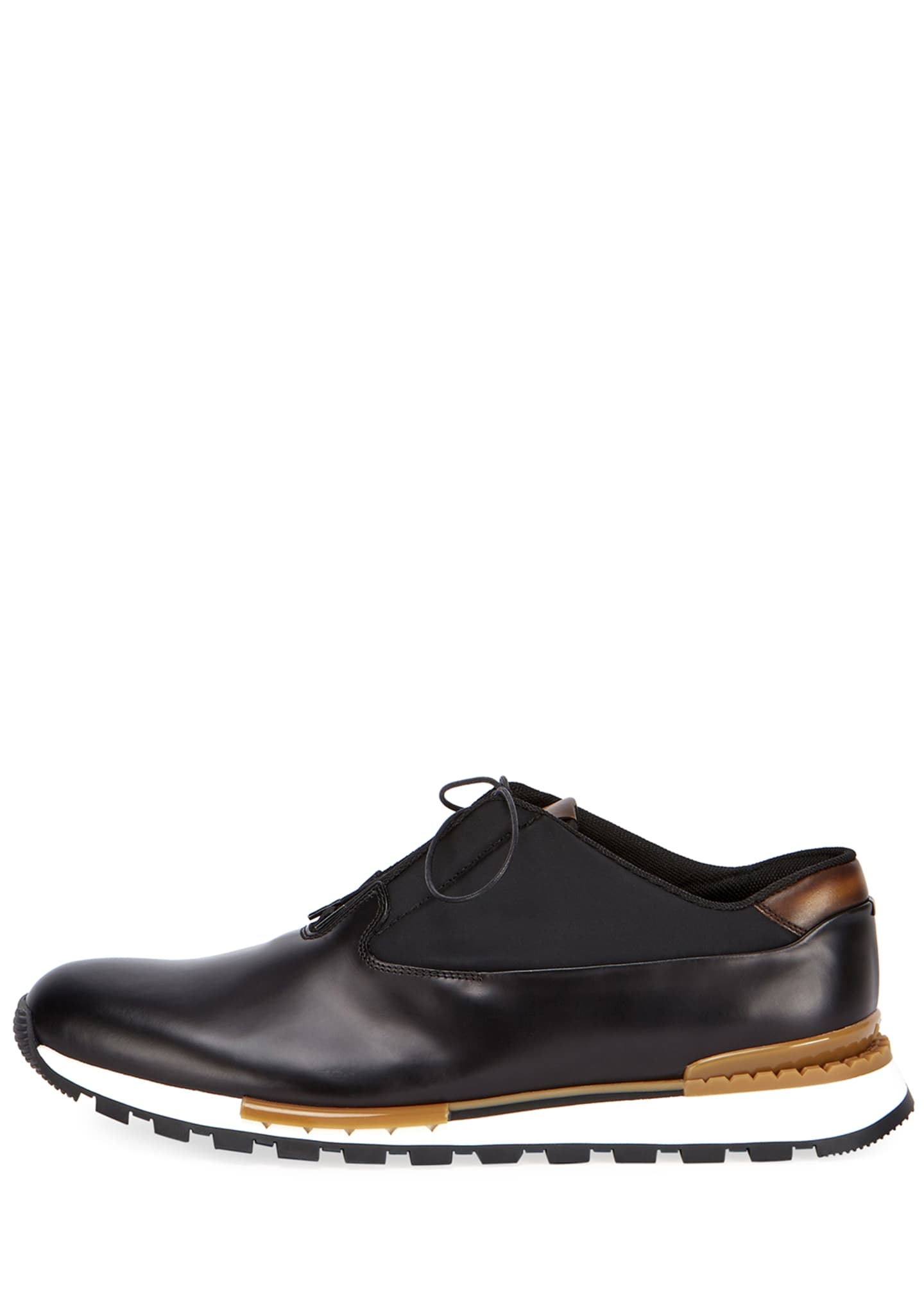 Image 3 of 4: Men's Fast Track Torino Glazed Calf Leather Sneaker