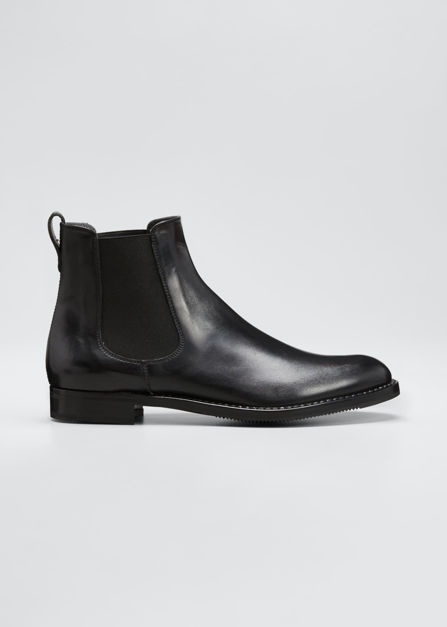 Gravati Tumbled Leather Chelsea Boots