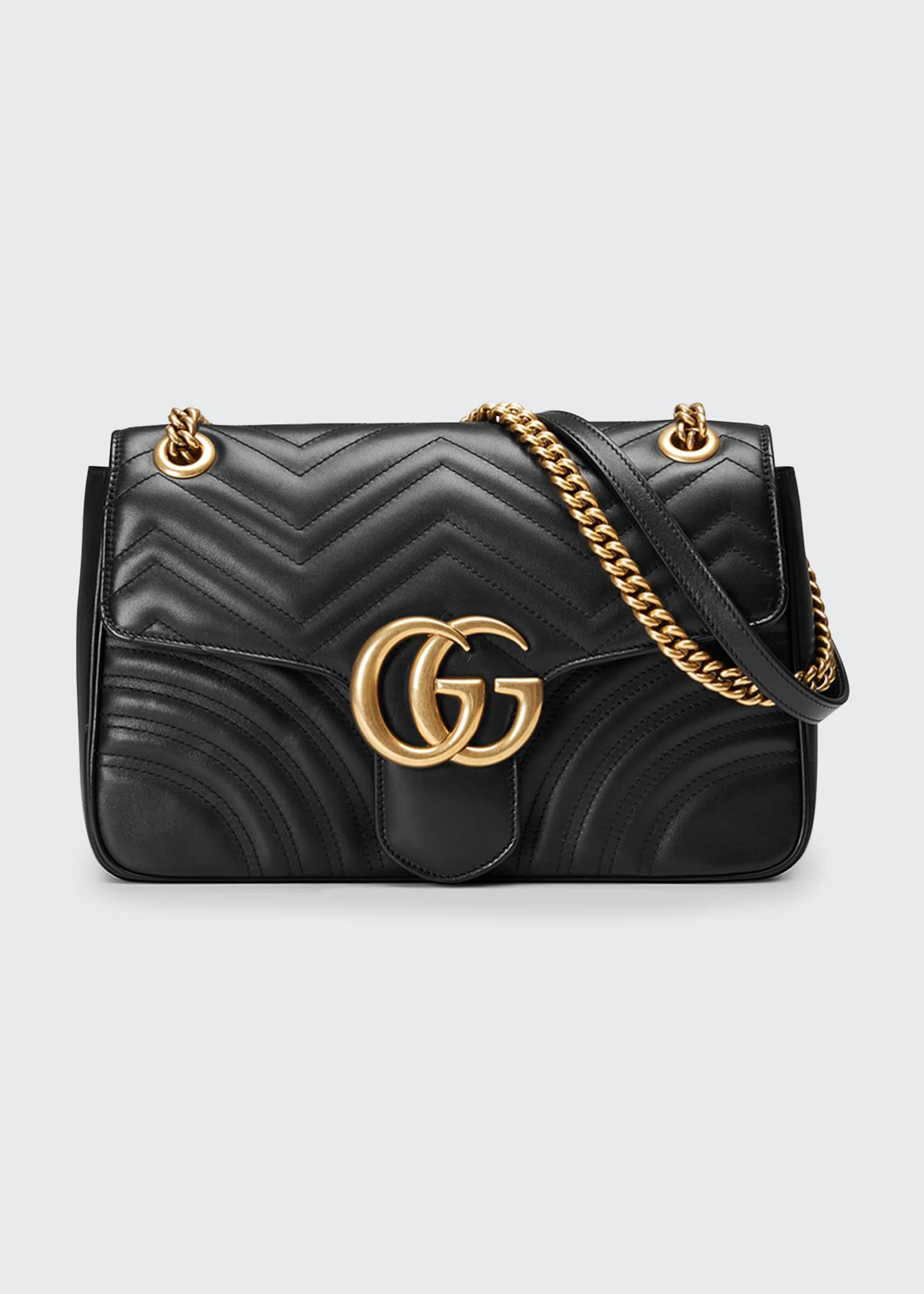 Gucci GG Marmont 2.0 Medium Quilted Shoulder Bag,