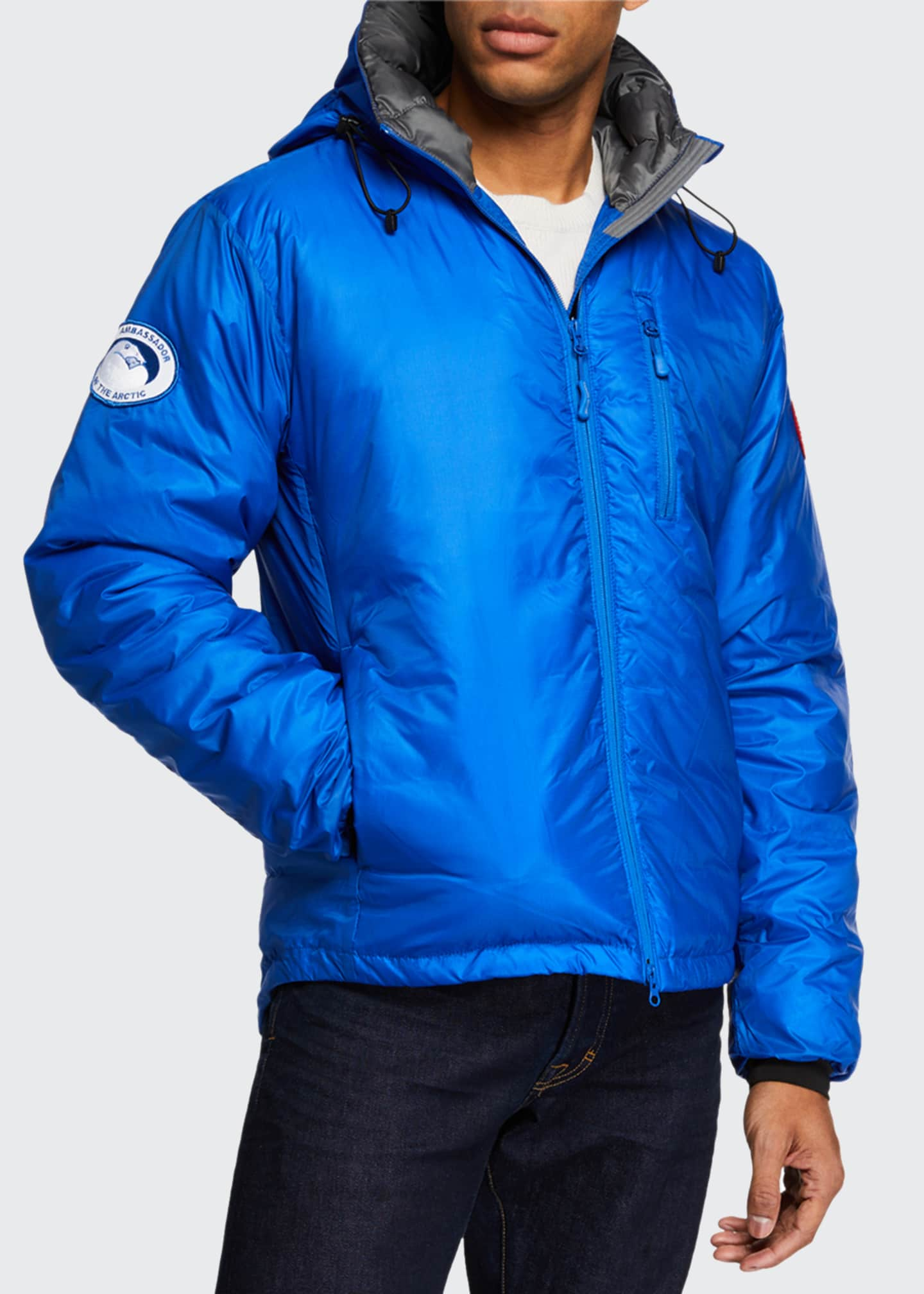Image 2 of 3: Men's Lodge PBI Down-Fill Hoodie Jacket
