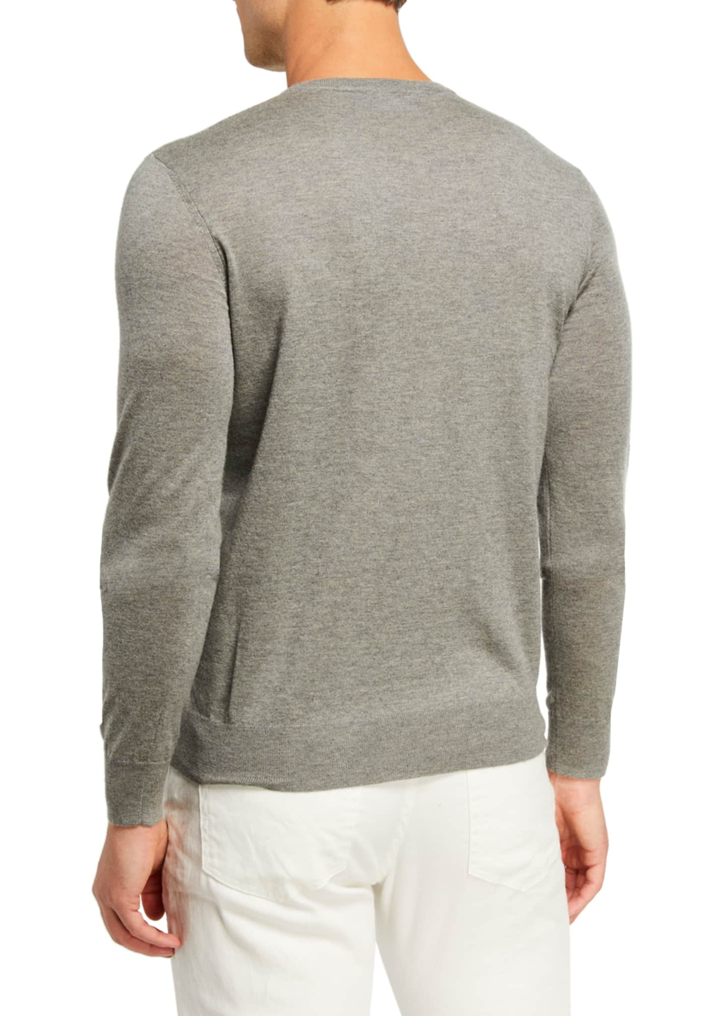 Image 2 of 2: Men's Cashmere Crewneck Sweater