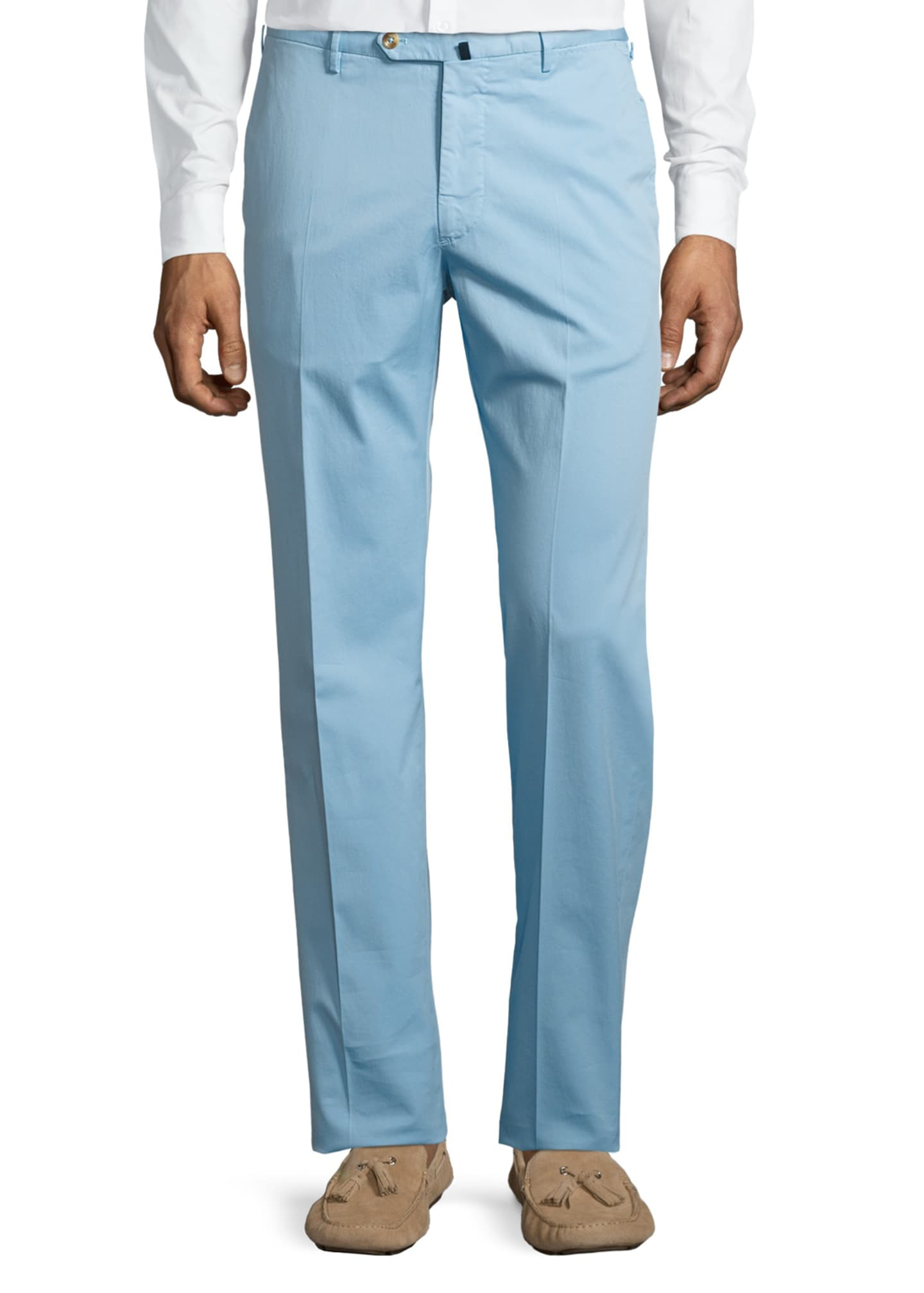 Image 3 of 5: Benson Five-Pocket Standard-Fit Trousers