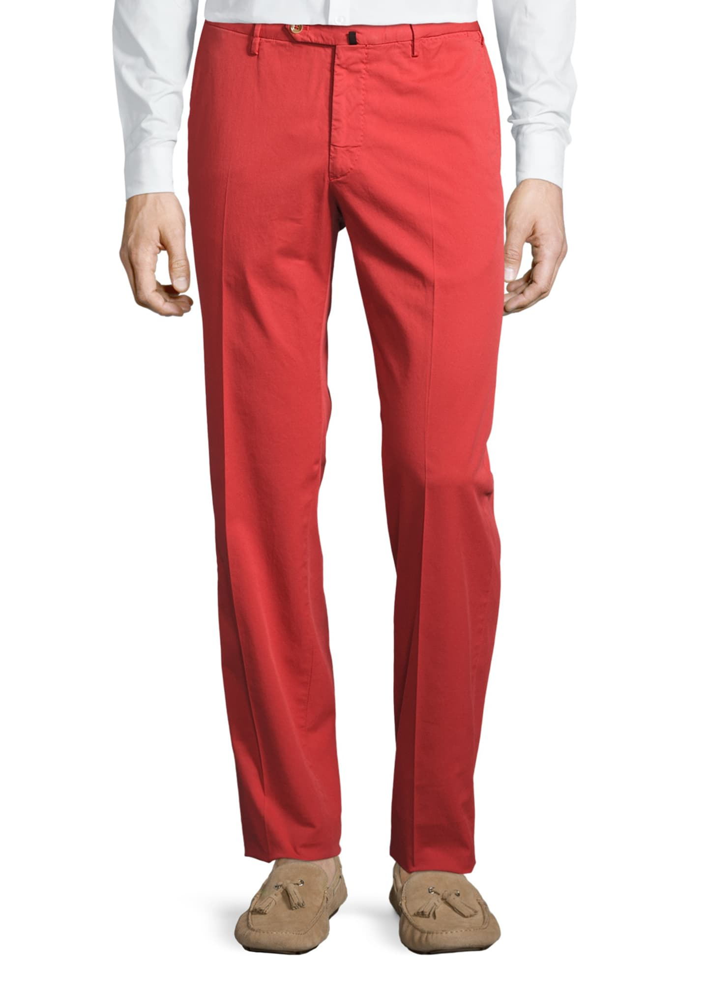 Image 1 of 5: Benson Five-Pocket Standard-Fit Trousers