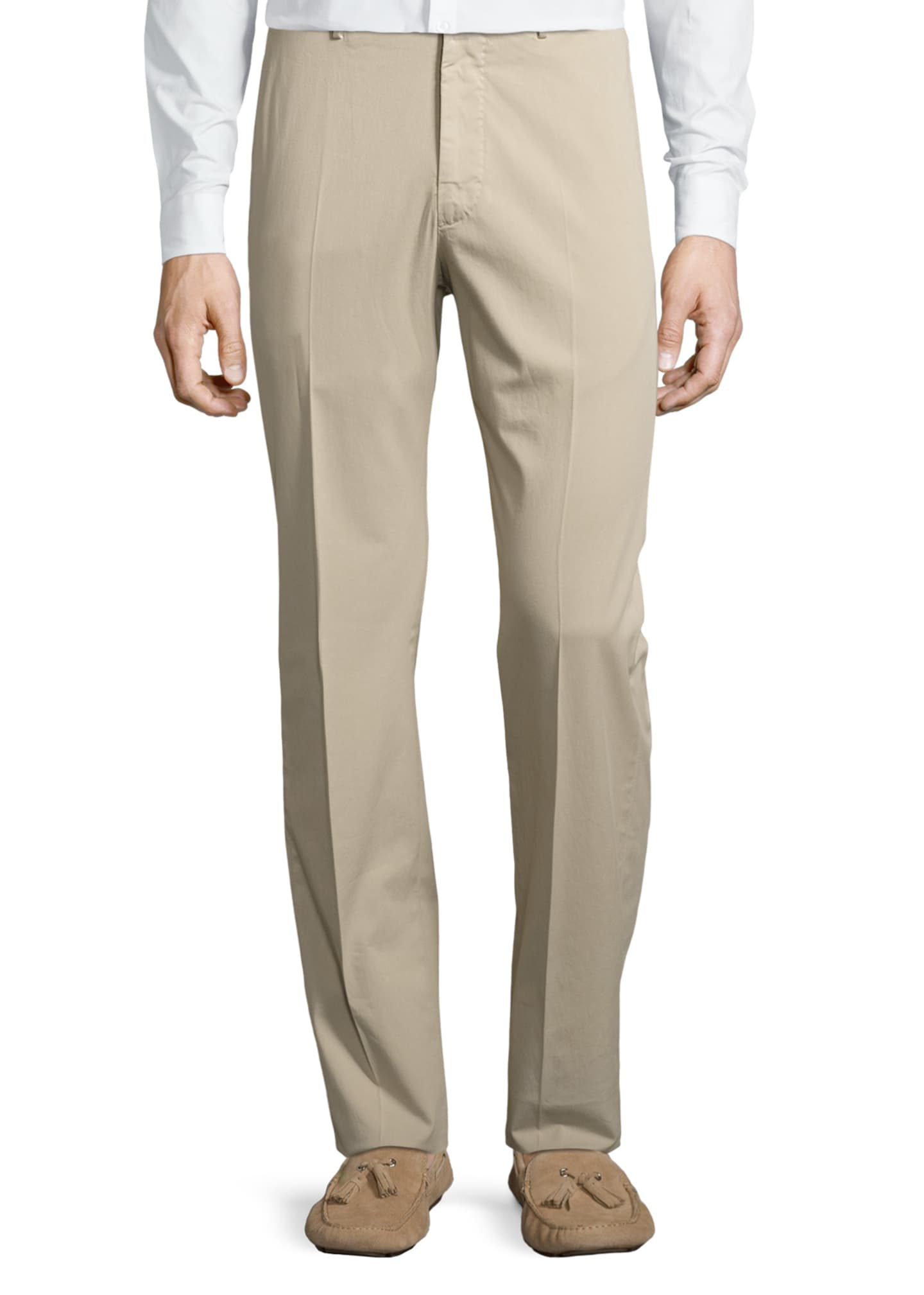 Image 5 of 5: Benson Five-Pocket Standard-Fit Trousers