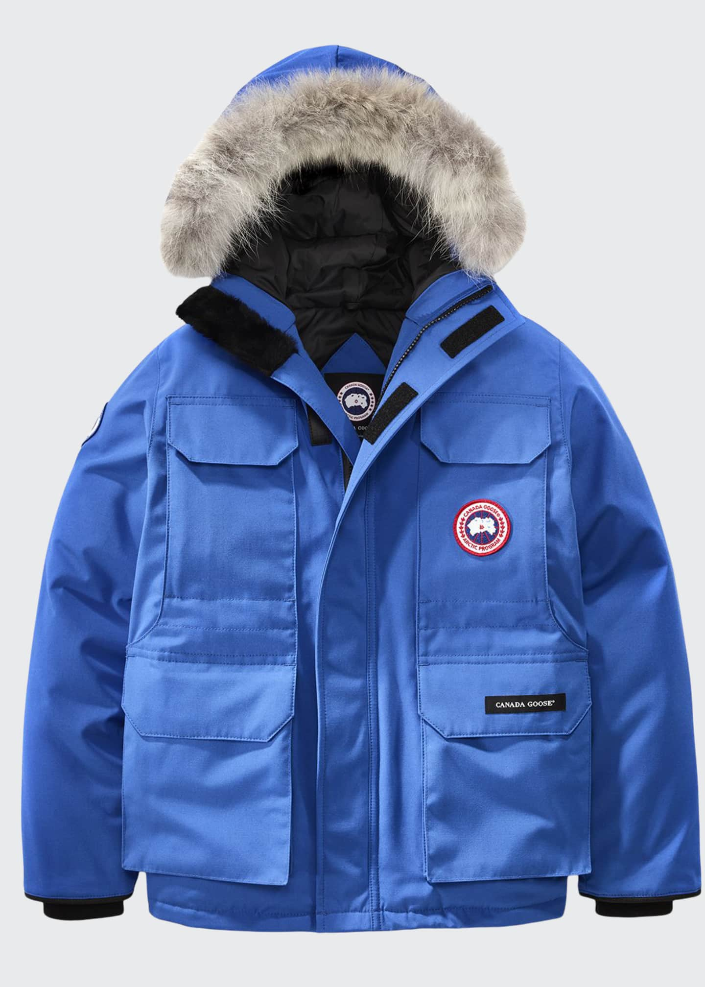Canada Goose PBI Expedition Hooded Parka, Royal Blue,