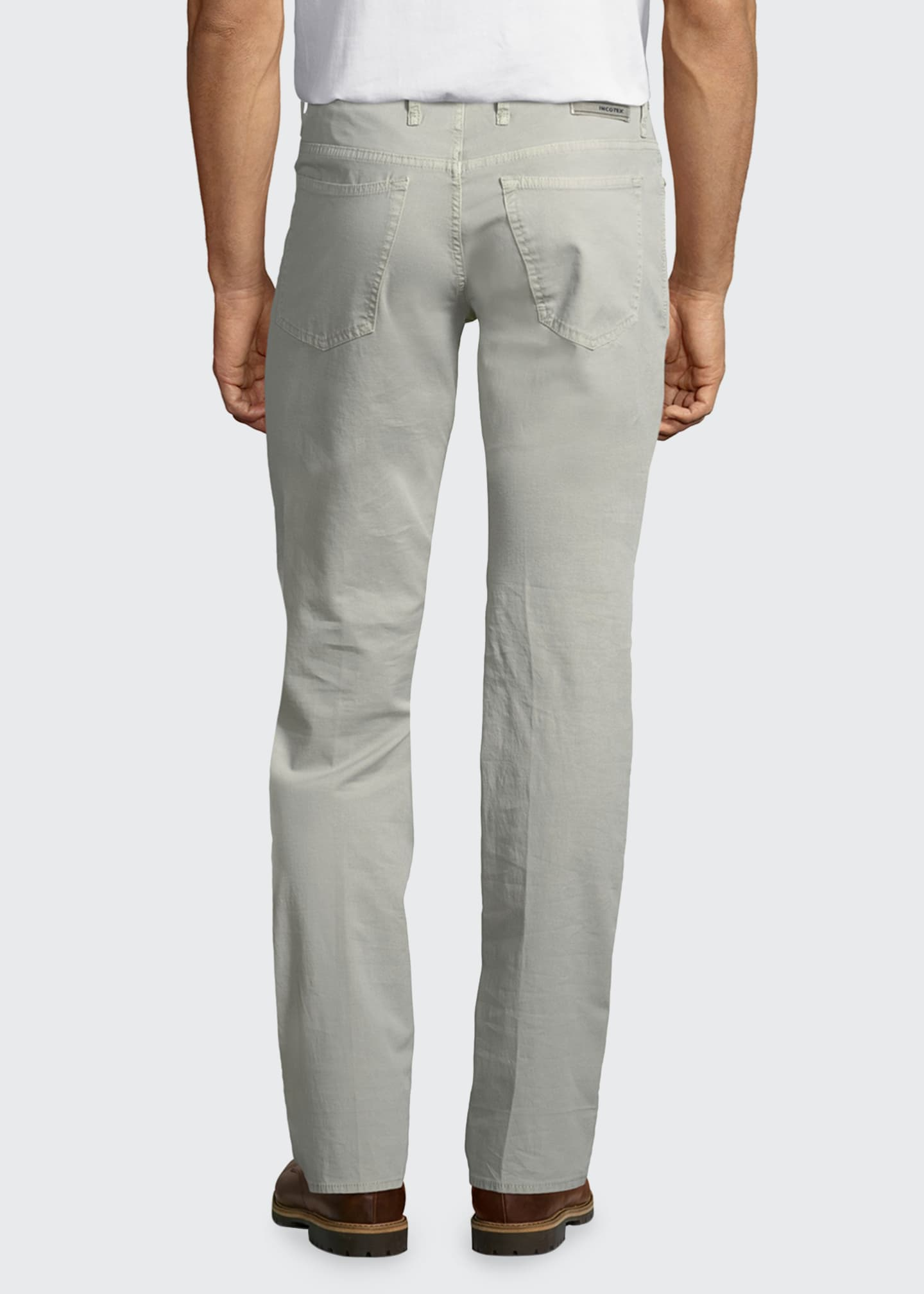 Image 2 of 5: Ray Standard-Fit Five-Pocket Pants
