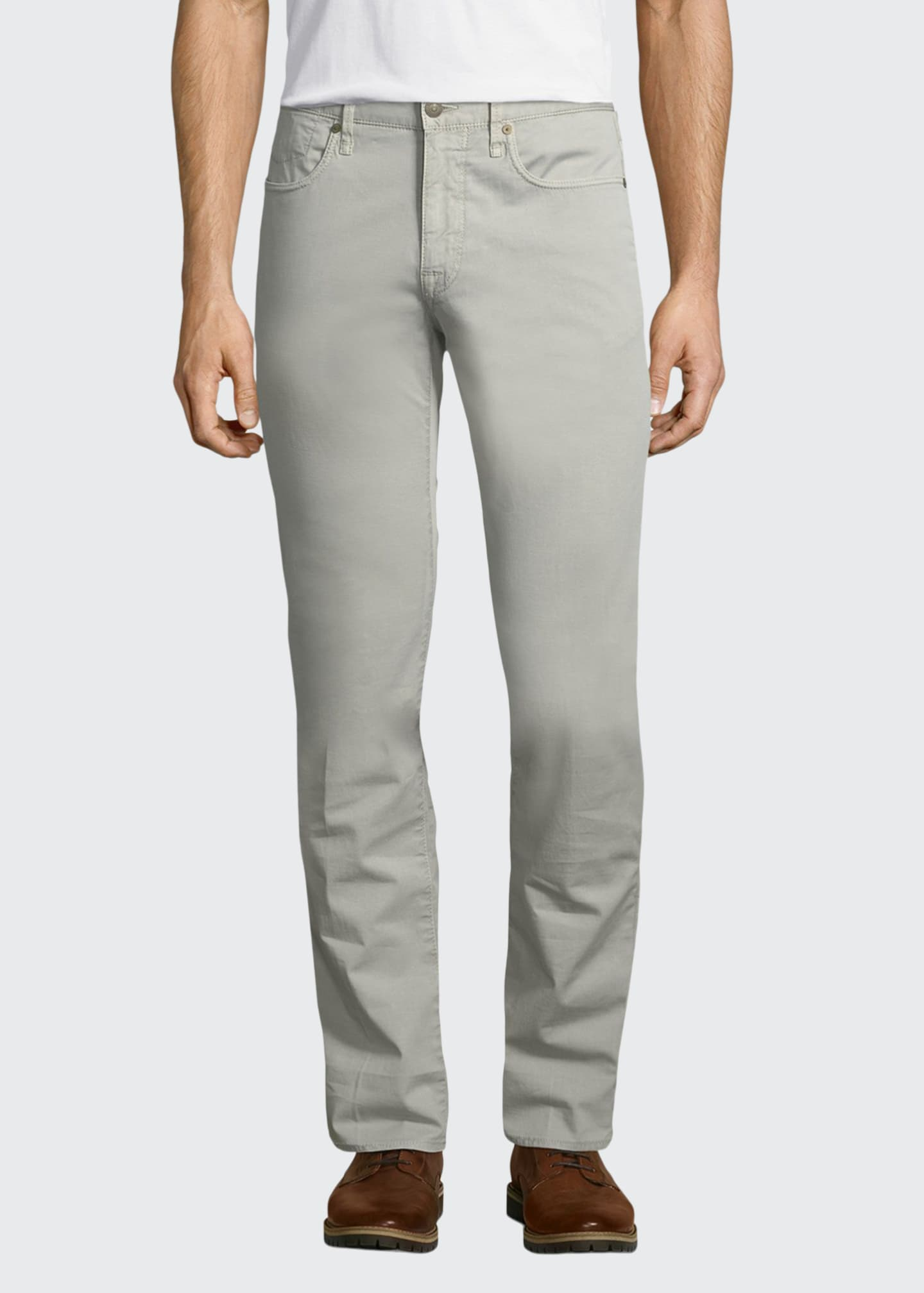 Image 1 of 5: Ray Standard-Fit Five-Pocket Pants
