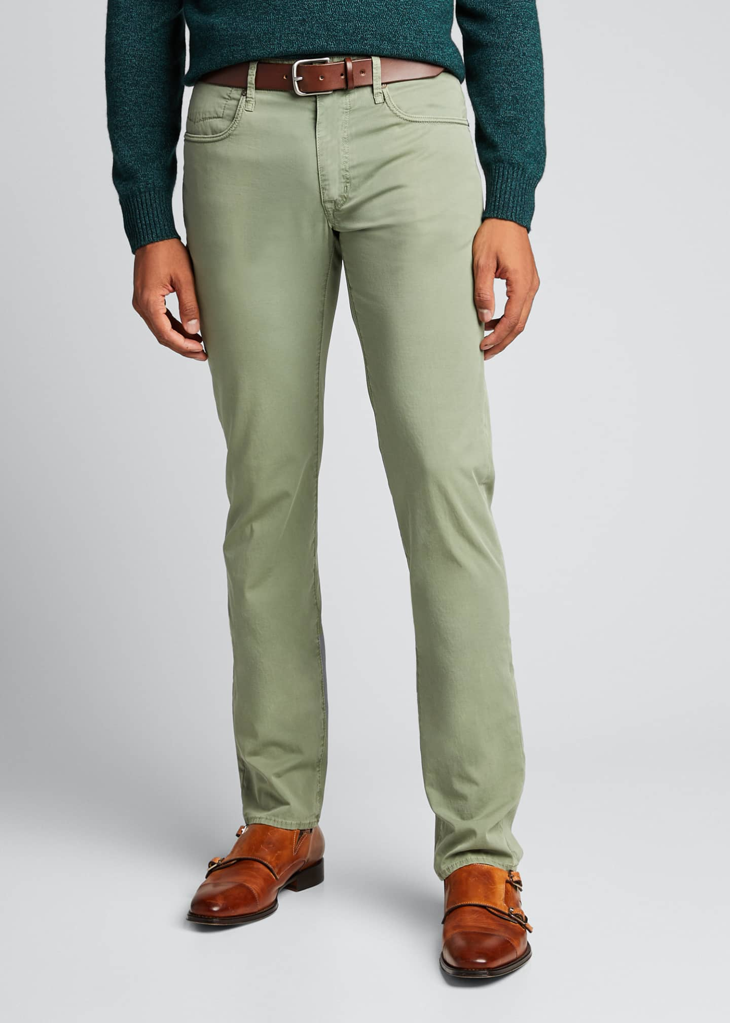 Image 3 of 5: Ray Standard-Fit Five-Pocket Pants
