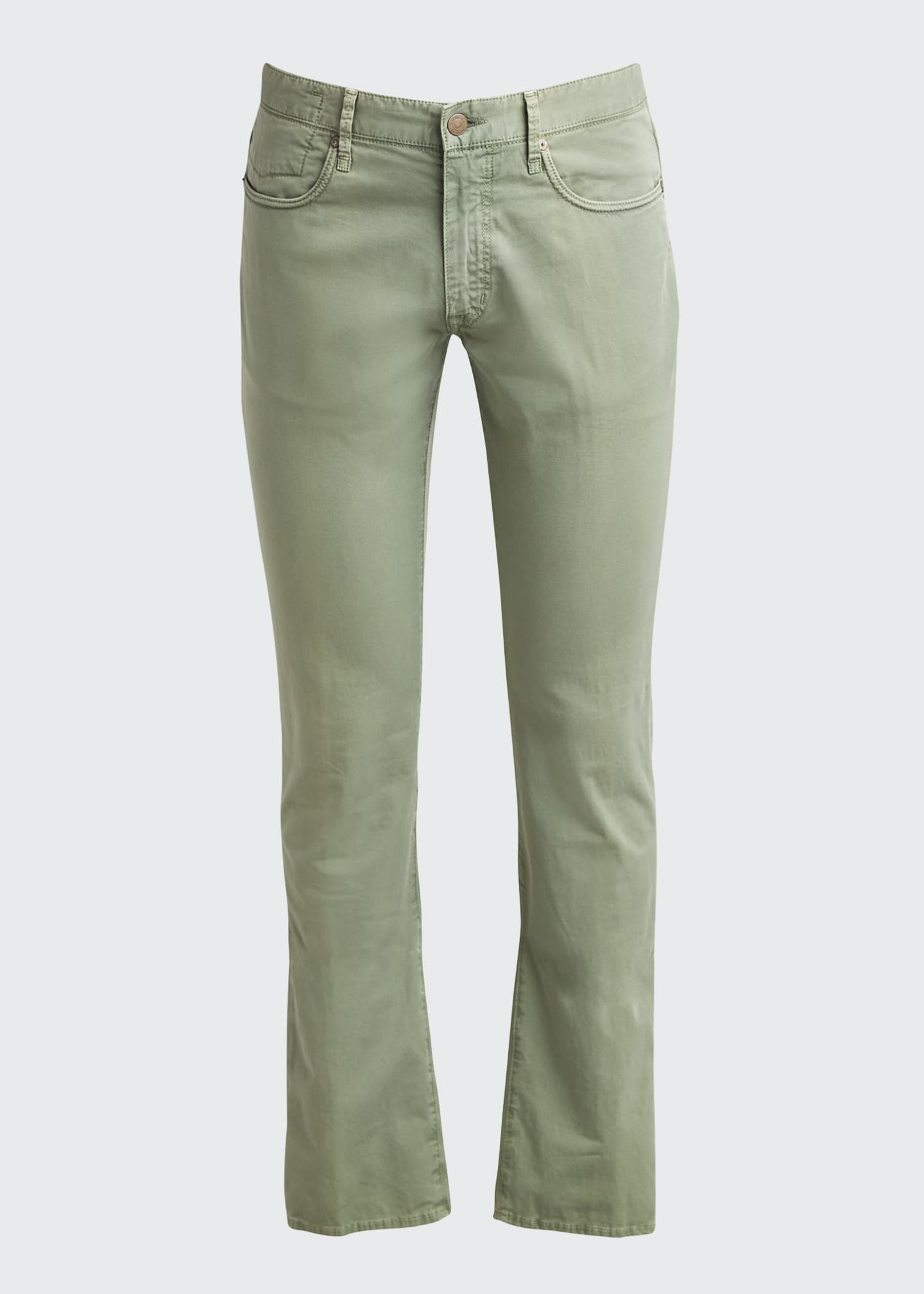 Image 5 of 5: Ray Standard-Fit Five-Pocket Pants