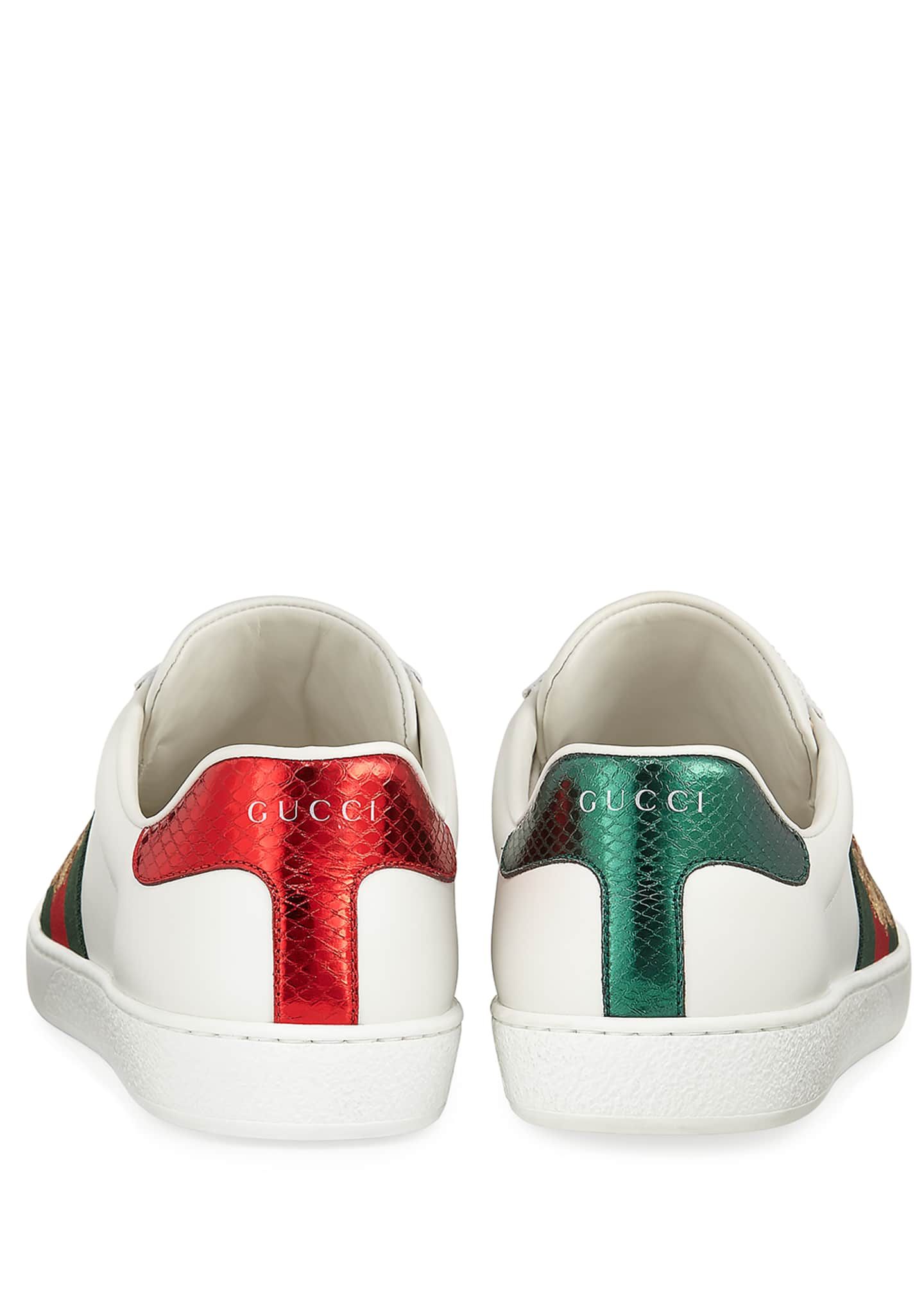 Image 4 of 4: Men's New Ace Embroidered Low-Top Sneakers