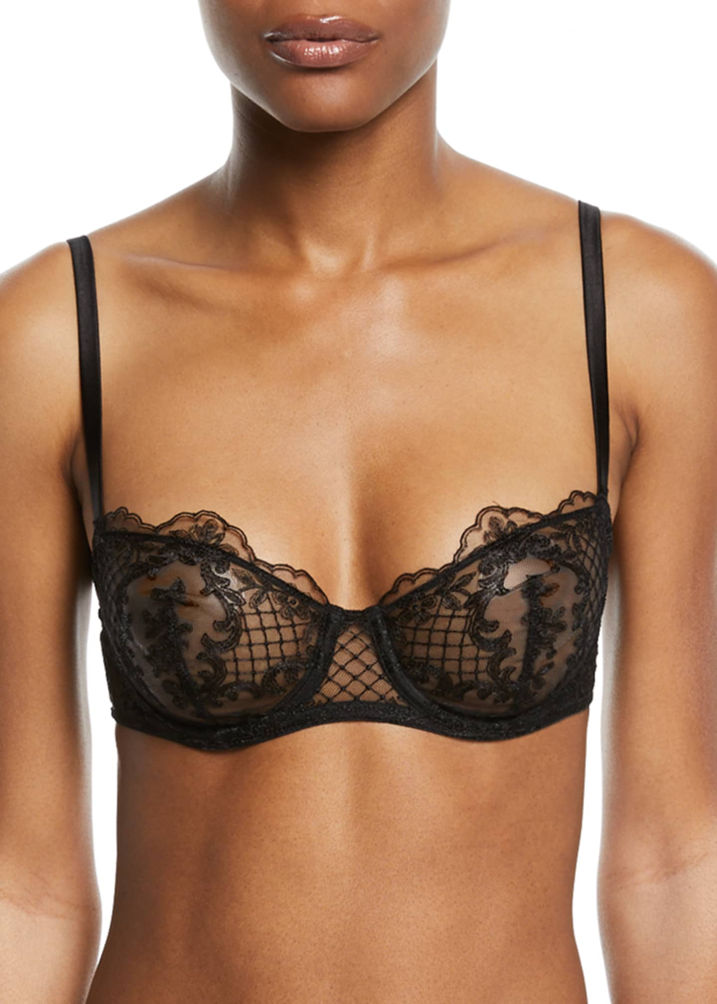 I.D. Sarrieri Accord Prive Underwire Half-Cup Bra