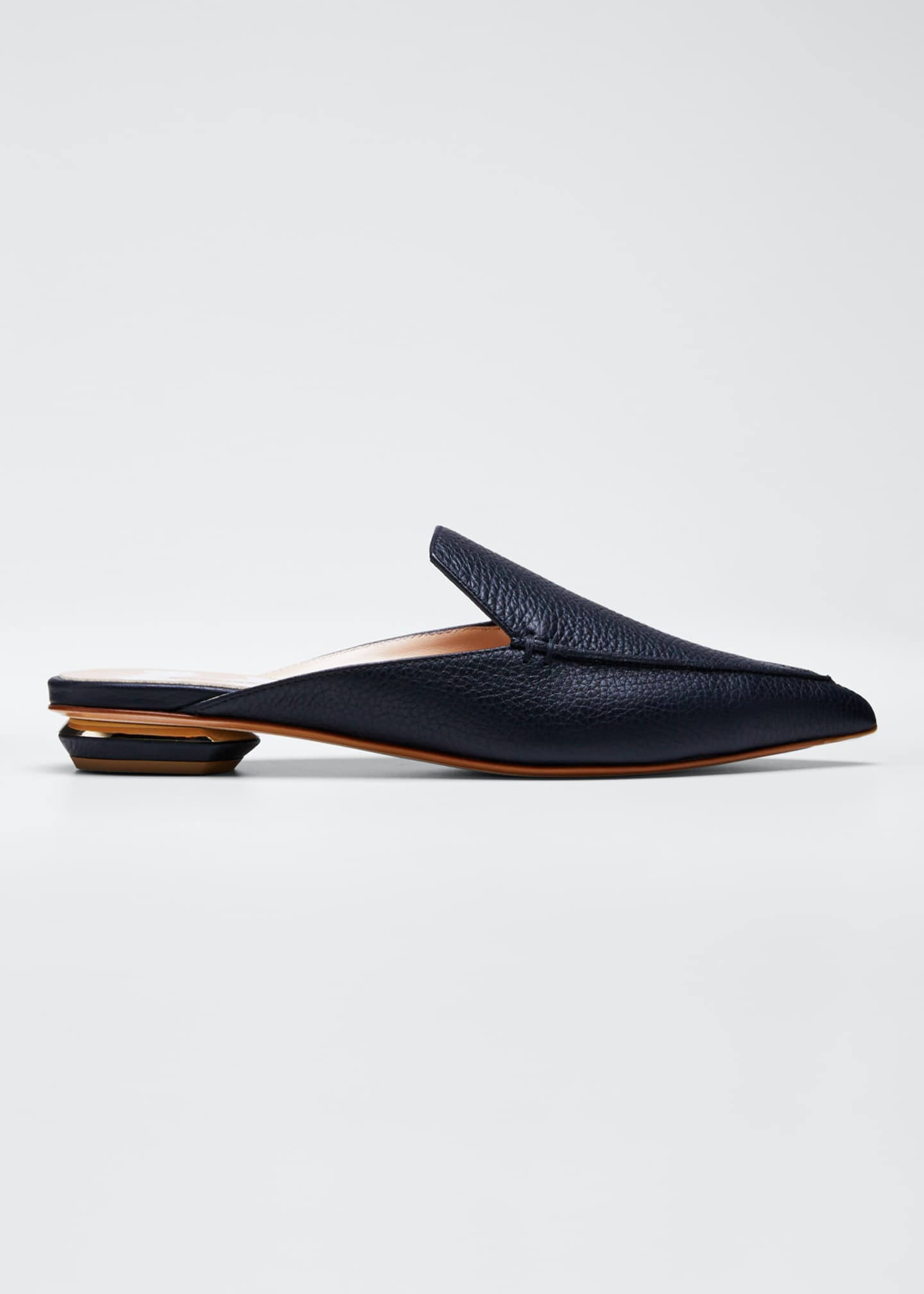 Nicholas Kirkwood Beya Leather Mule Slide