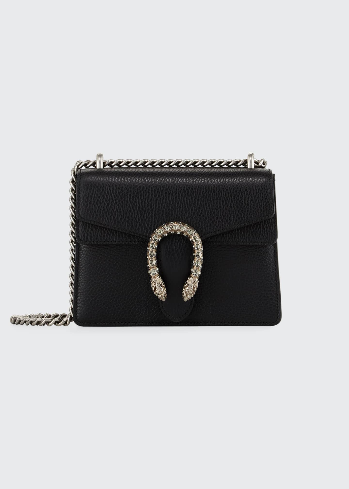 Gucci Dionysus Leather Crystal Mini Bag