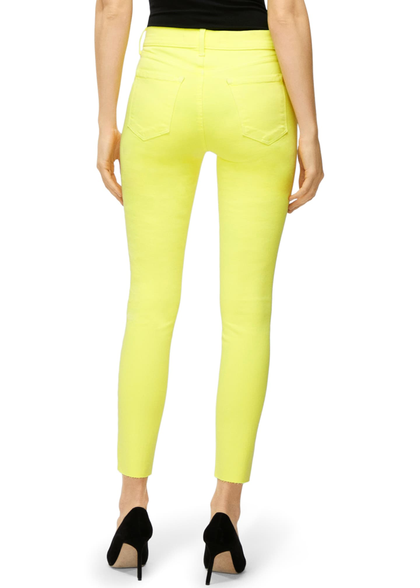 Image 3 of 4: Alana High-Rise Cropped Skinny Jeans