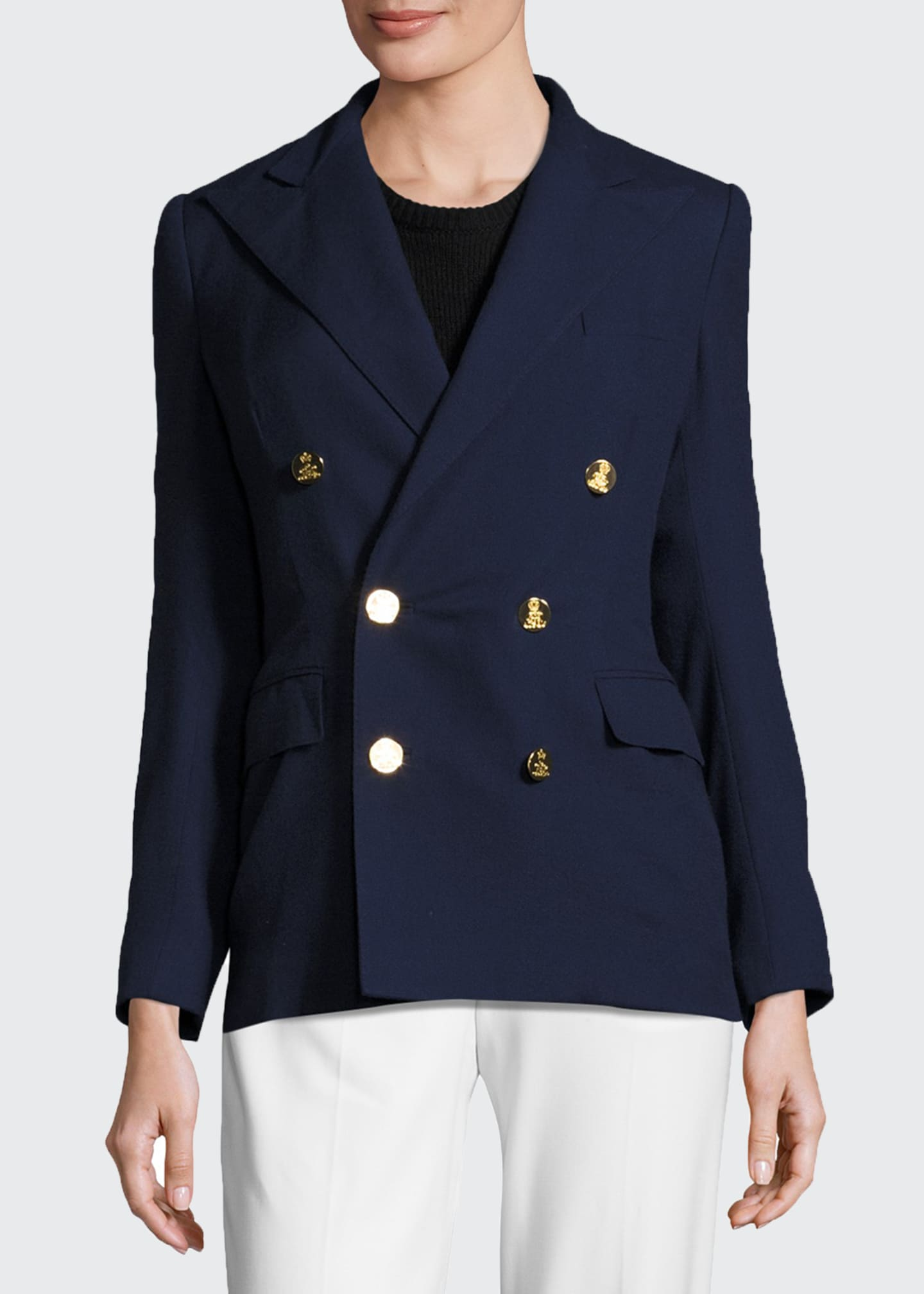 Image 3 of 4: The RL Blazer, Navy