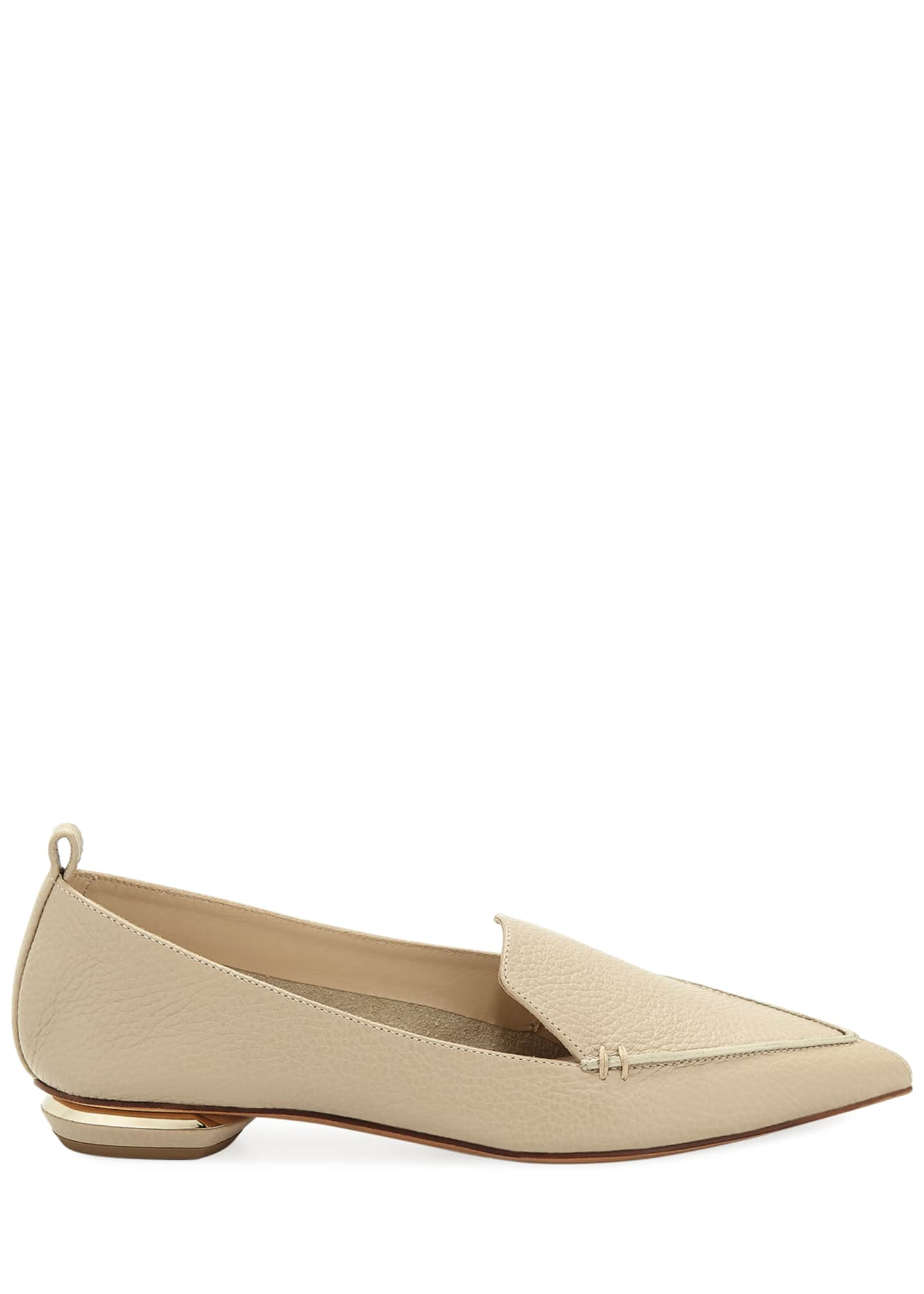 Image 2 of 3: Beya Leather Loafer, Sand