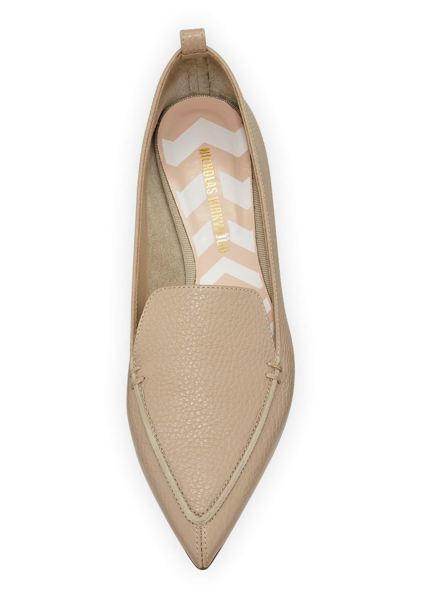 Image 3 of 3: Beya Leather Loafer, Sand
