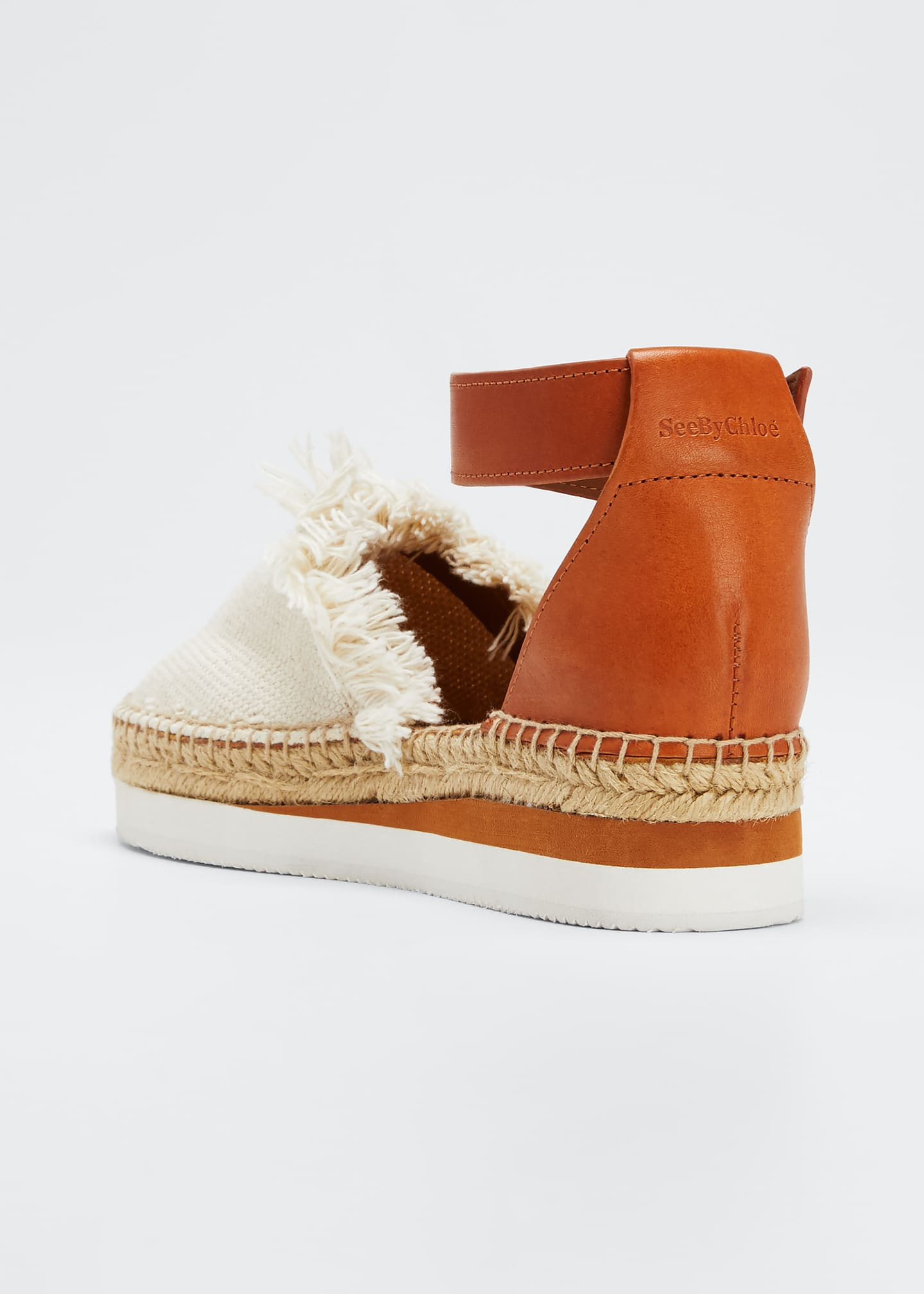 Image 4 of 5: Glyn Canvas & Leather Espadrille
