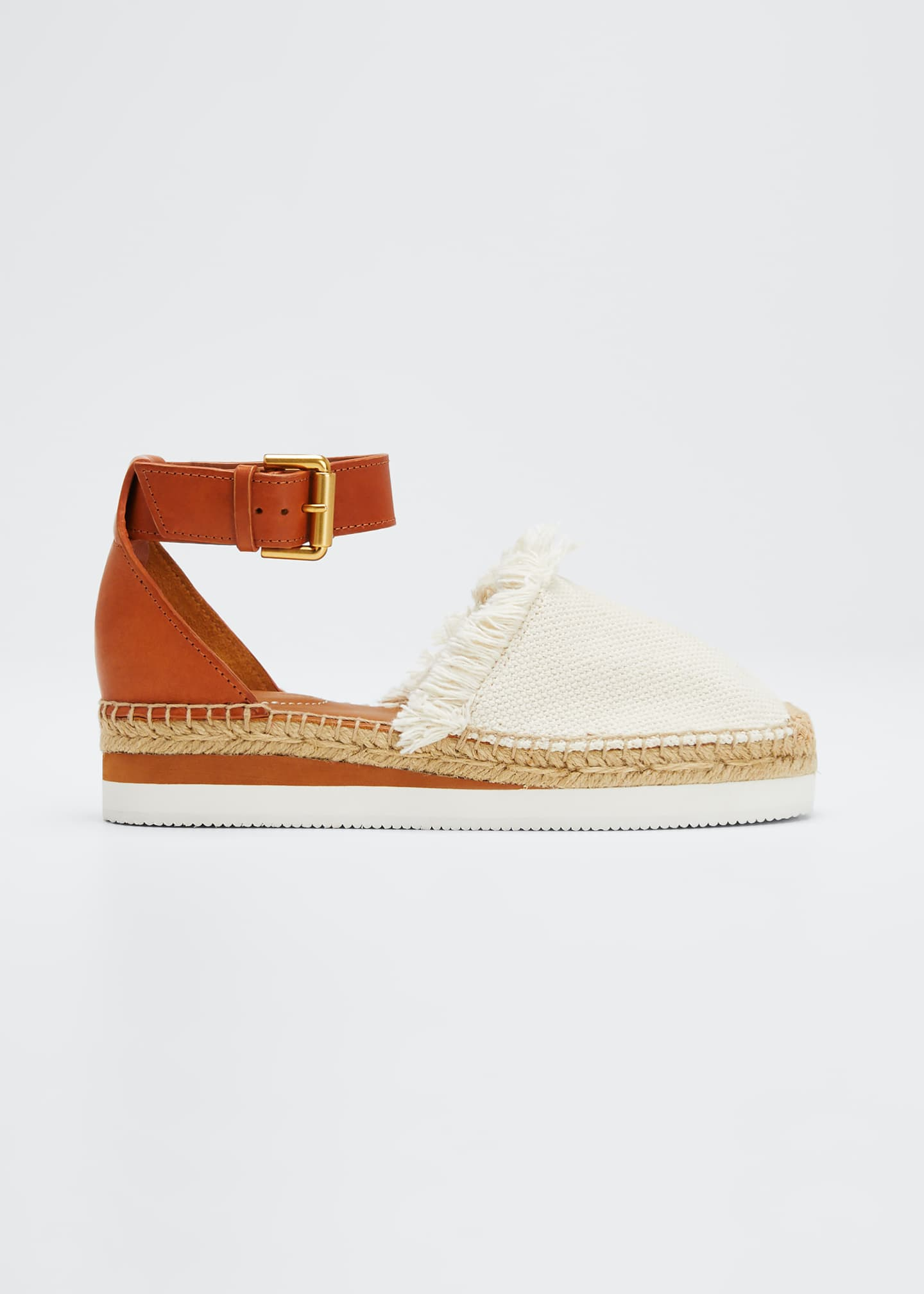 Image 1 of 5: Glyn Canvas & Leather Espadrille